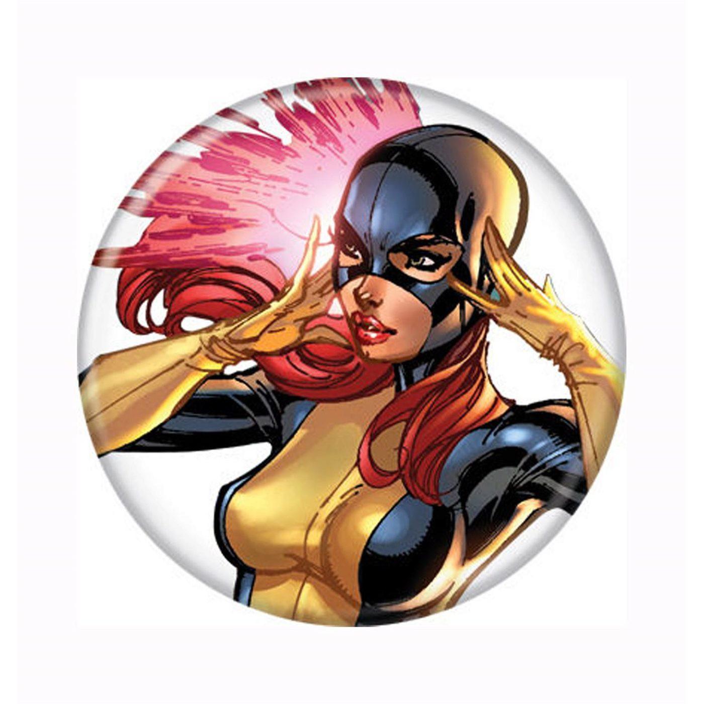 X-Men First Class Jean Grey Button