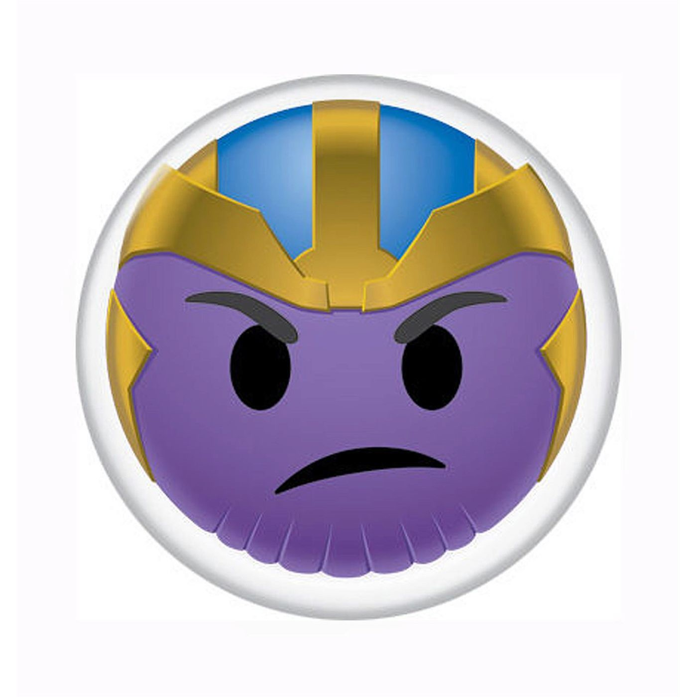 Thanos Mean Emoji Button