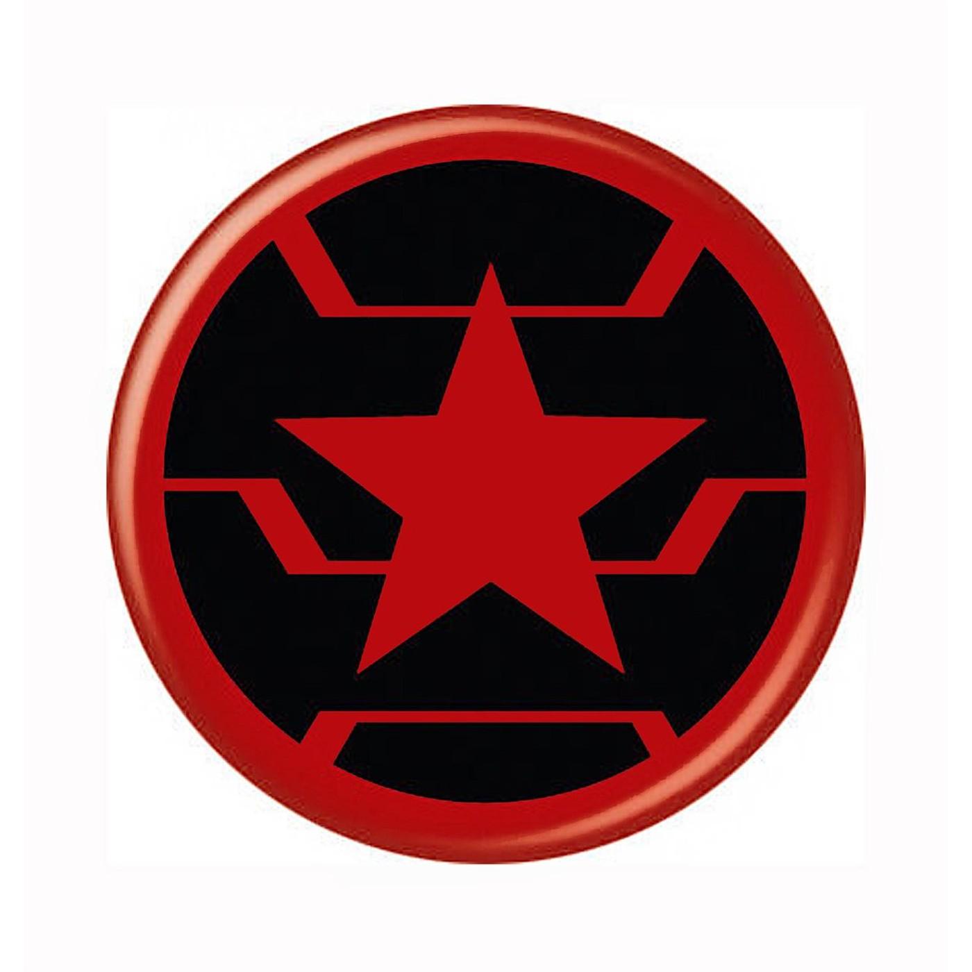 Winter Soldier Symbol Button