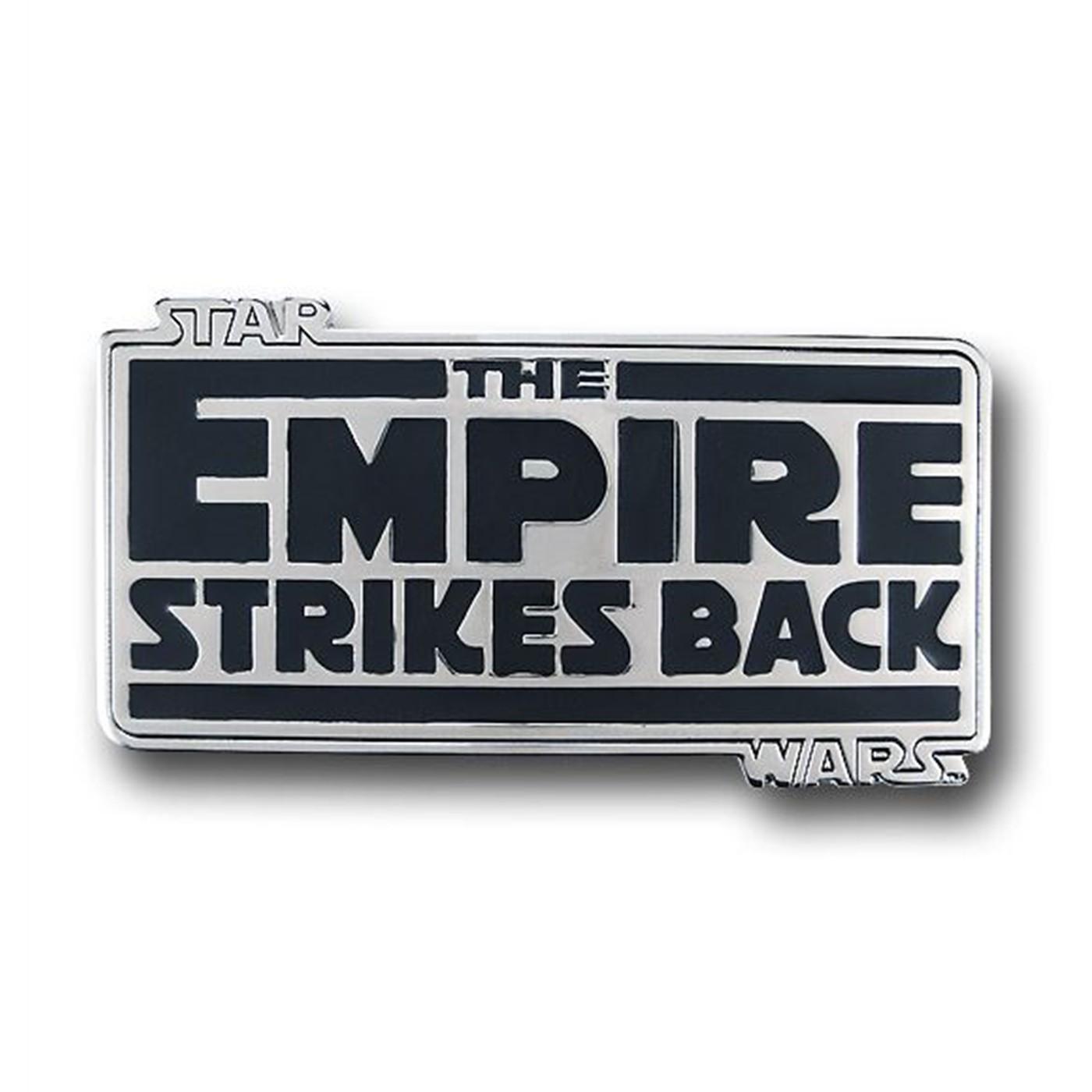 Star Wars Empire Strikes Back Belt Buckle