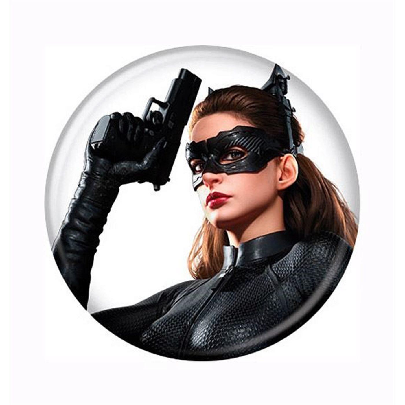 Dark Knight Rises Catwoman Gun Up Button