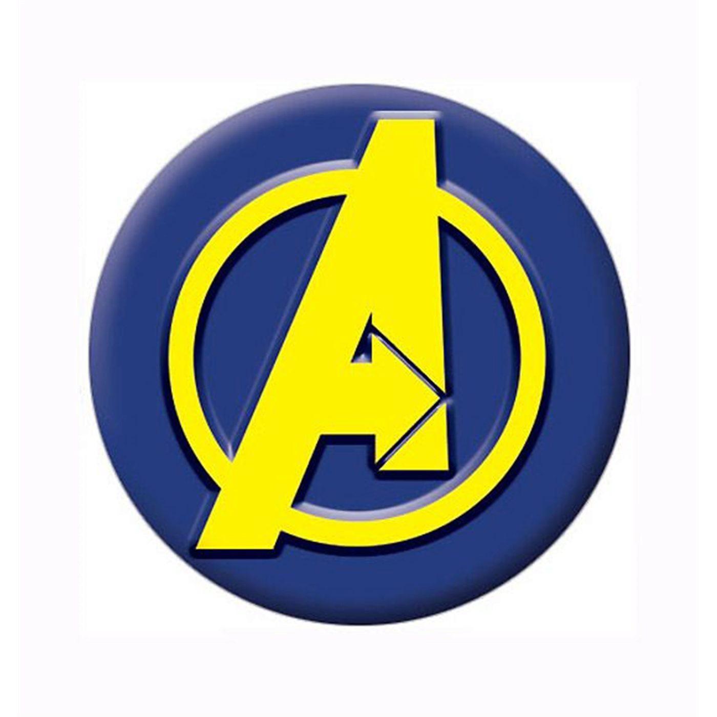 Avengers Symbol Button