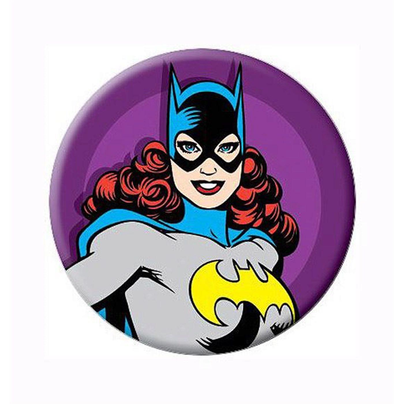 Batgirl Retro Babs Button