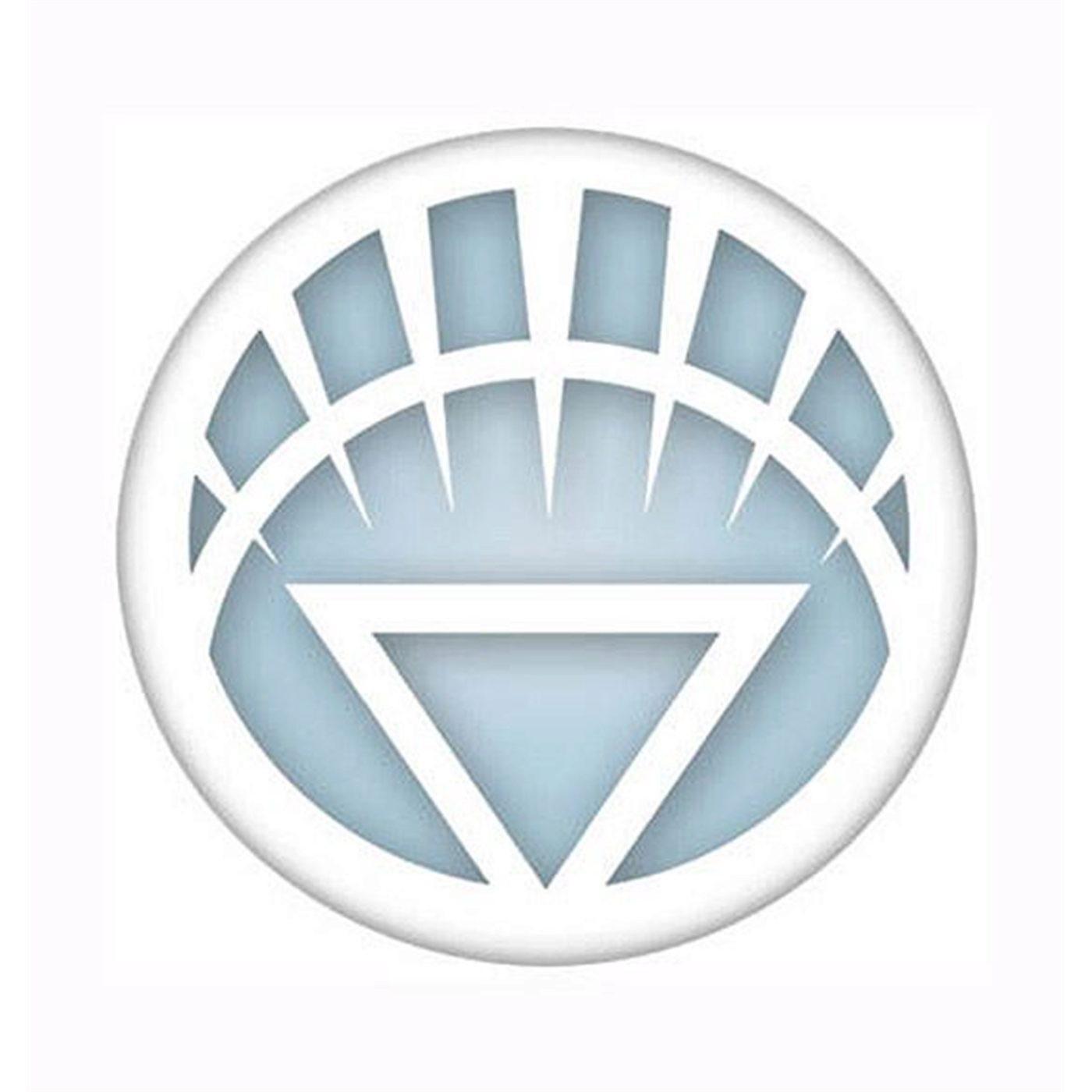 Green Lantern Brightest Day Symbol Button