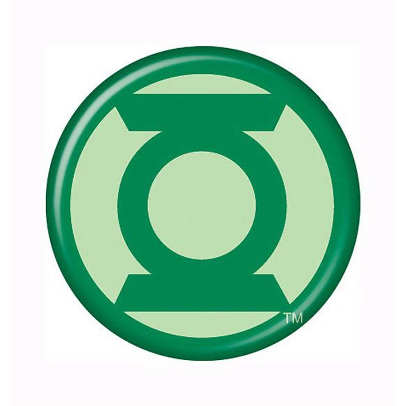 Green Lantern Modern Symbol Button