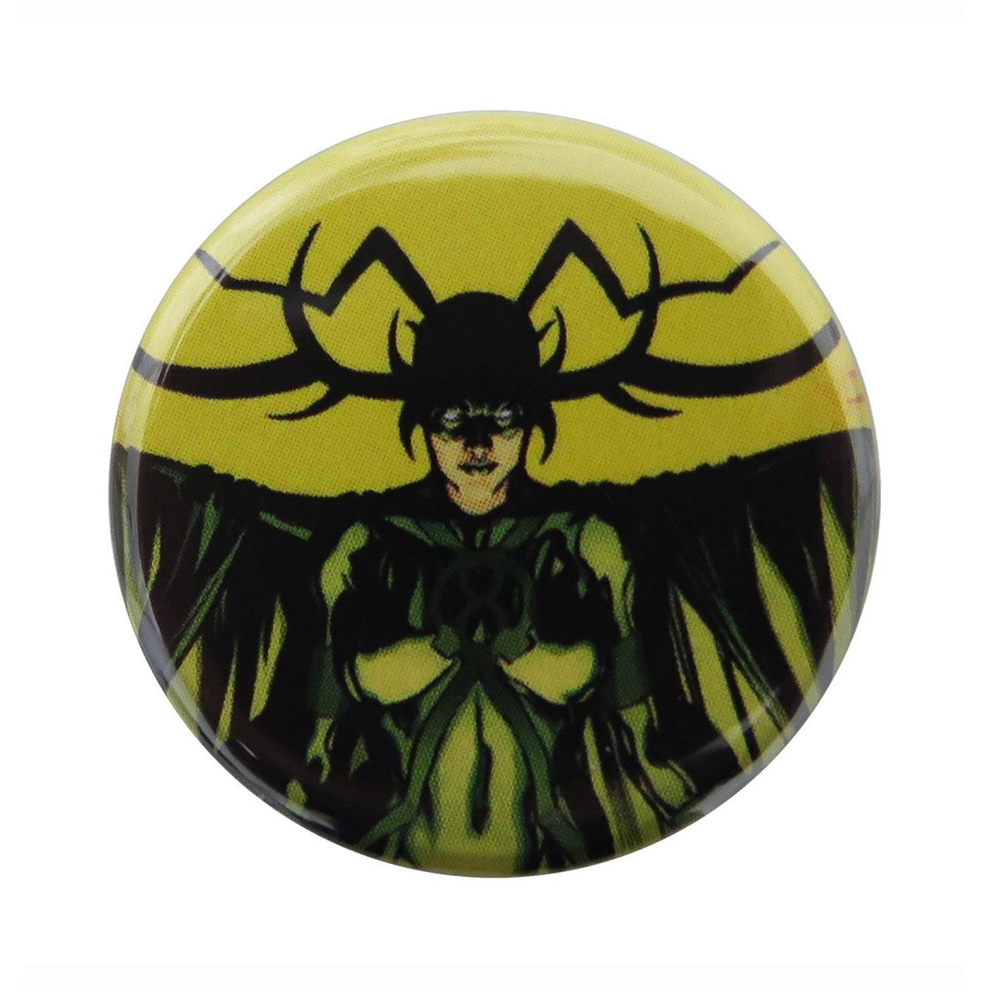 Hela Goddess of Death Button