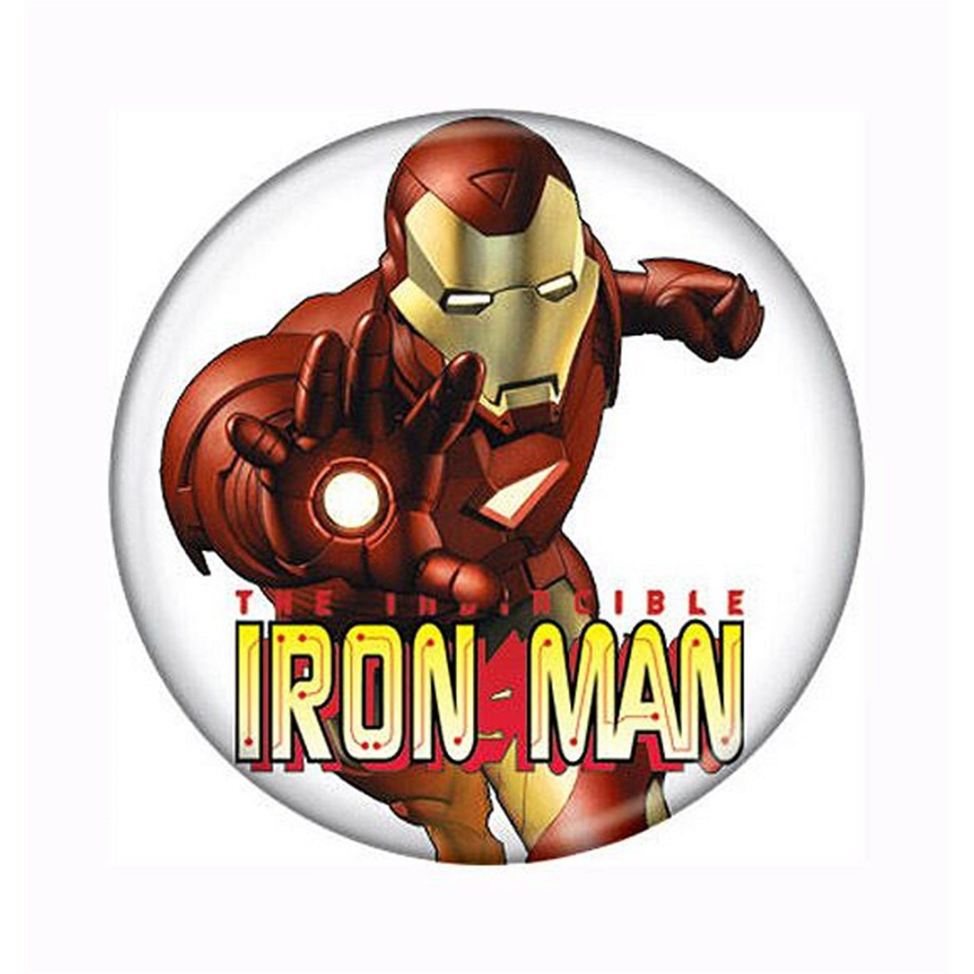 "Iron Man ""Eat My Repulsor"" Button"
