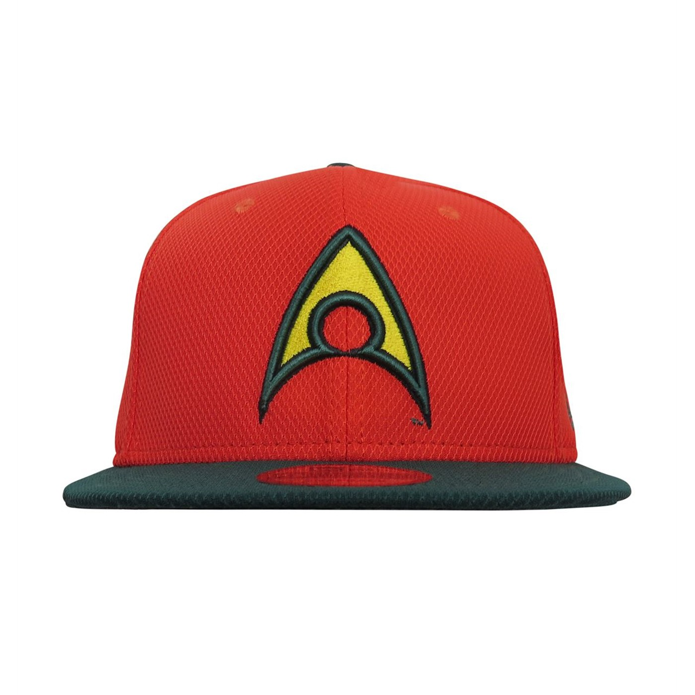Aquaman Symbol Orange 9Fifty Adjustable Hat