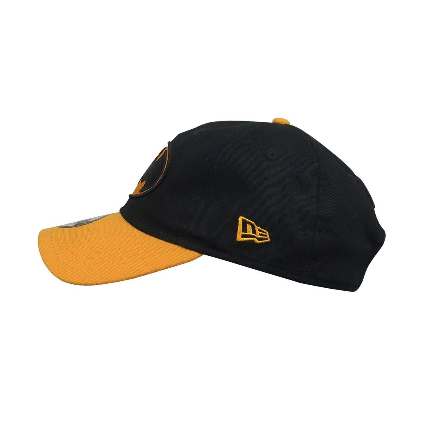 Batman Black And Yellow 9Twenty Adjustable Hat