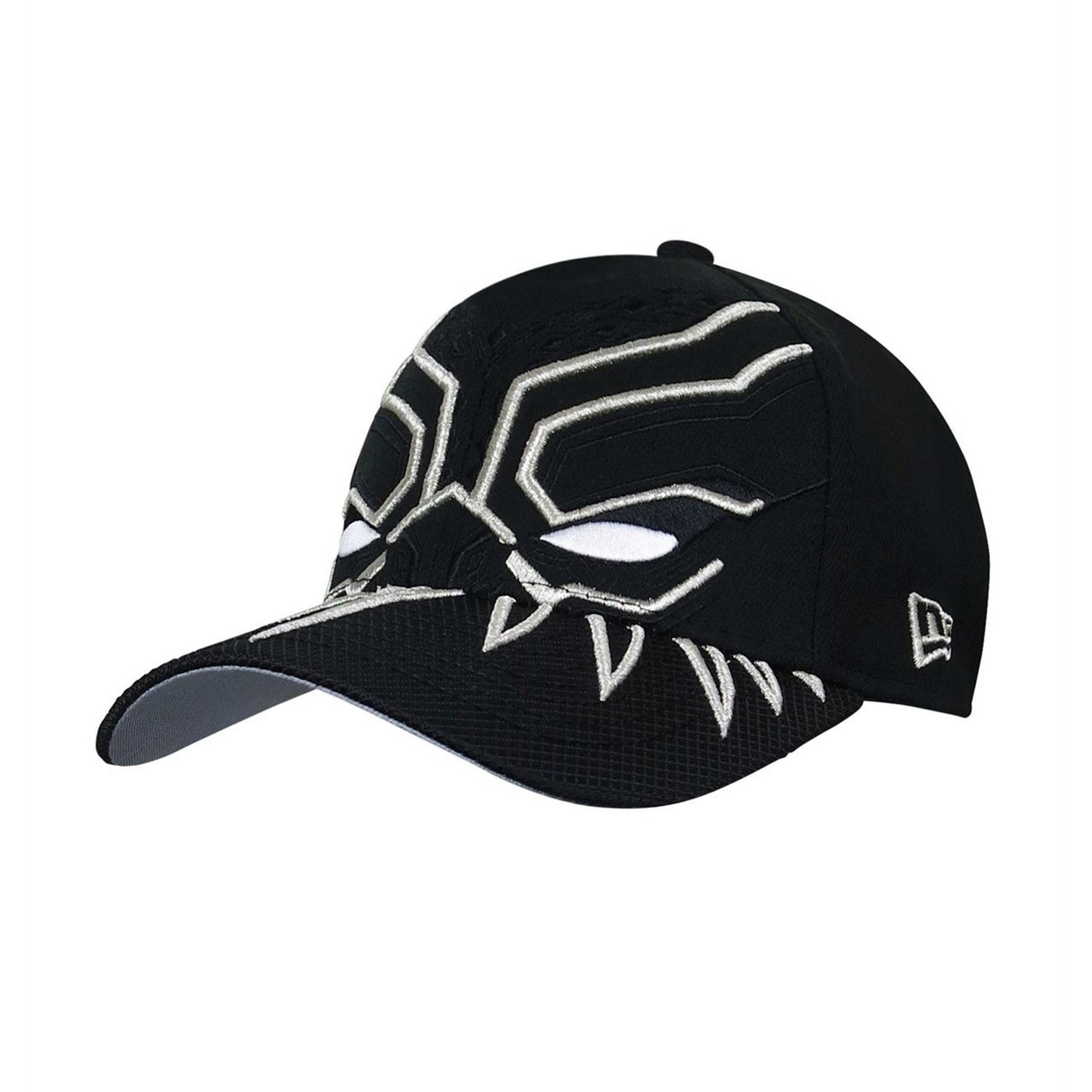 279c5ecac Black Panther Armor New Era 39Thirty Hat