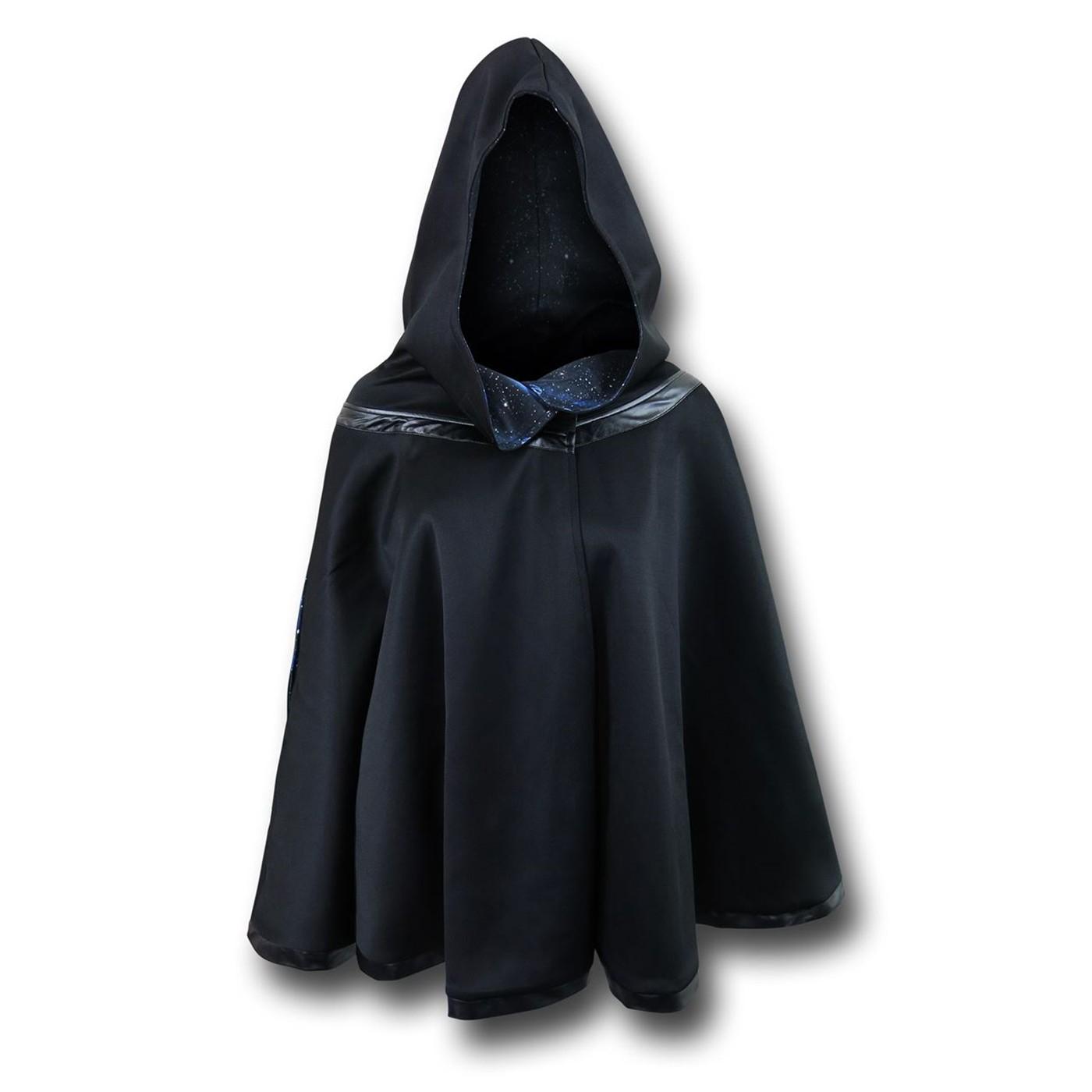 Star Wars Death Star Reversible Women's Hooded Cape