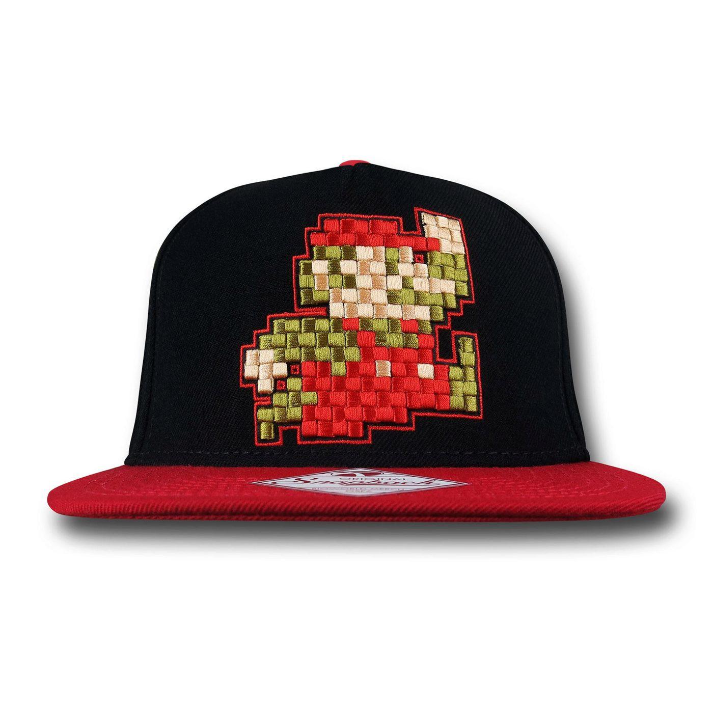 Mario Jumping Snapback Cap