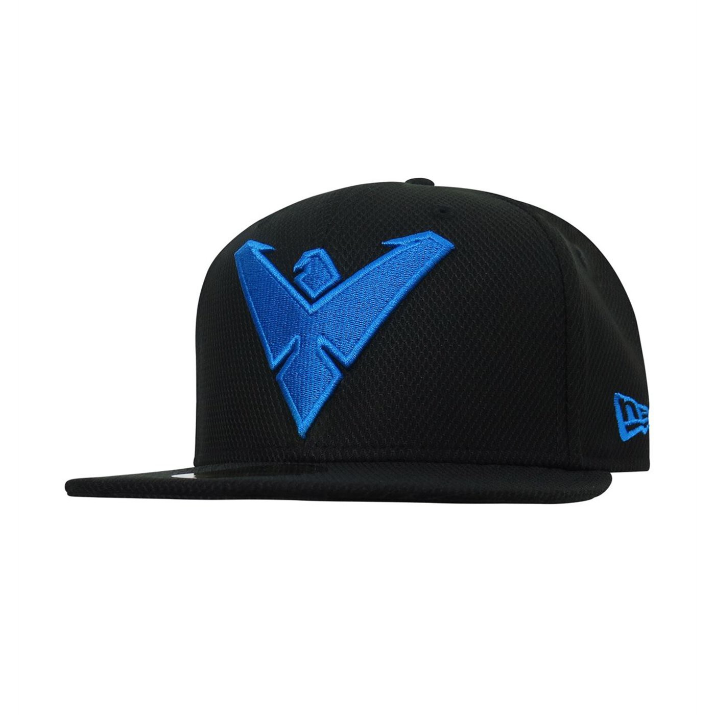 Nightwing Symbol 59Fifty Black Fitted Hat