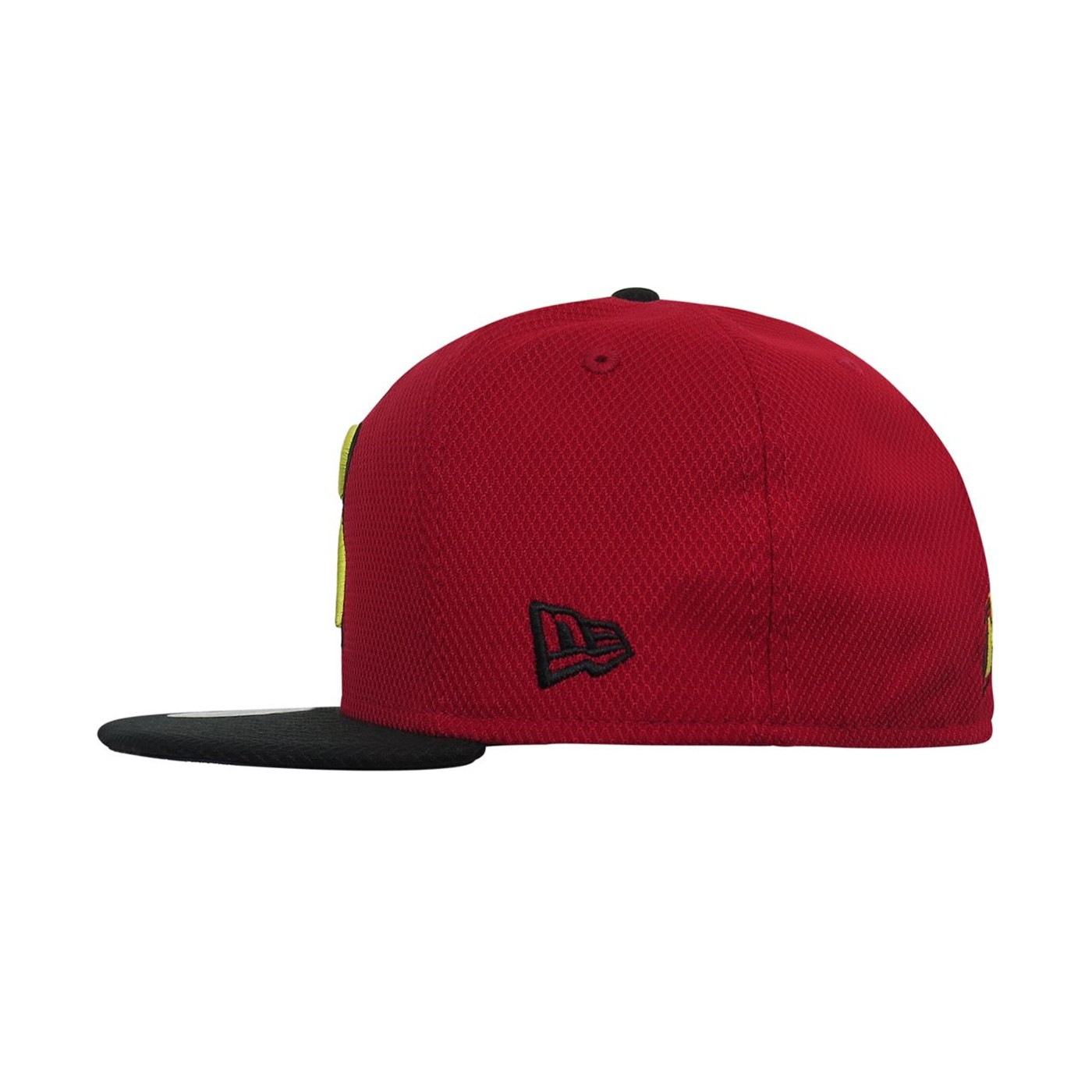 Robin Symbol Red 59Fifty Fitted Hat