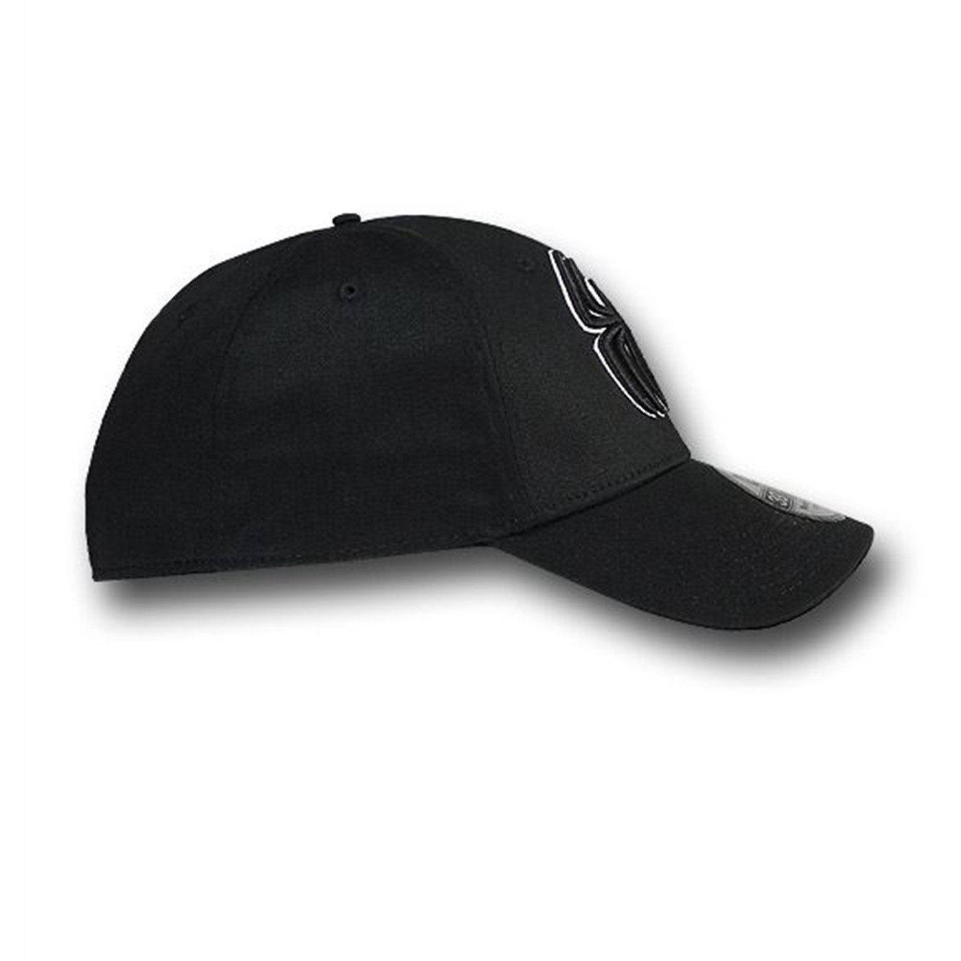 Spider-Man 3D Symbol Black 39Thirty Baseball Cap