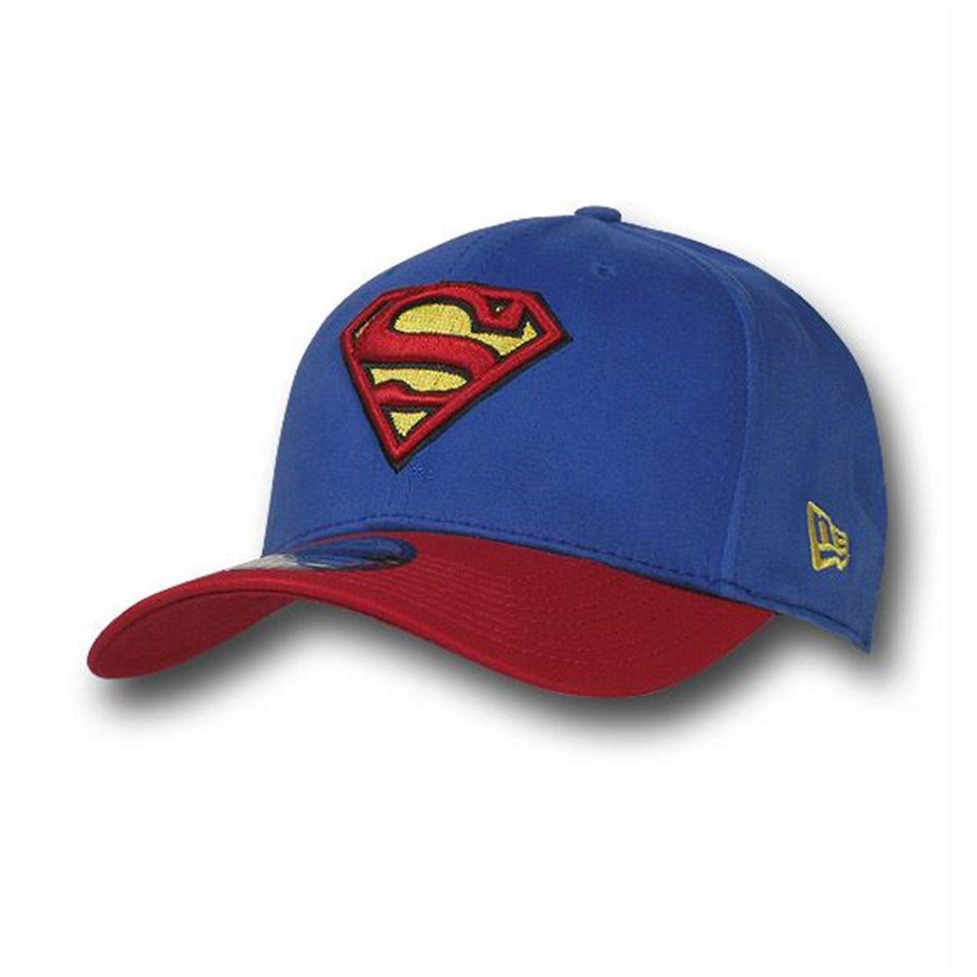 Superman 39Thirty Blue & Red Baseball Cap