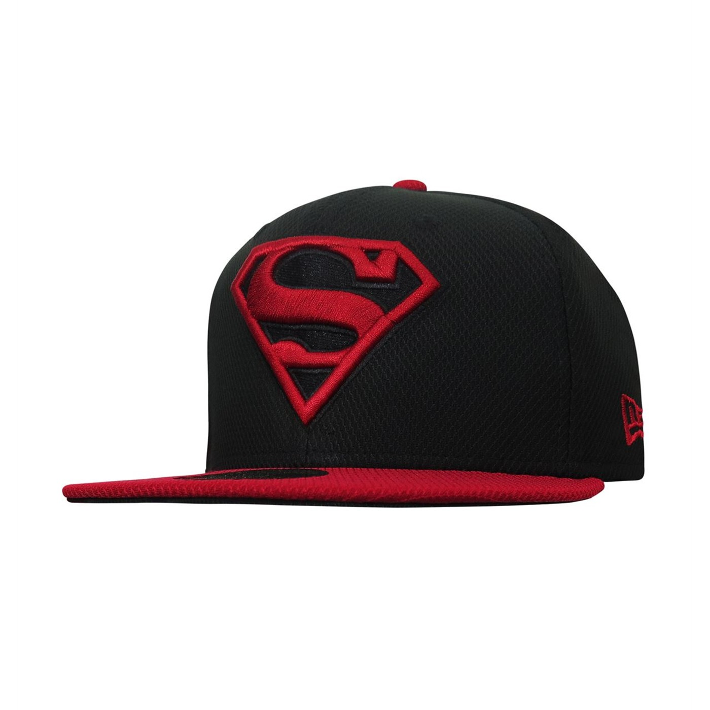 Superboy Symbol Red & Black 59Fifty Fitted Hat