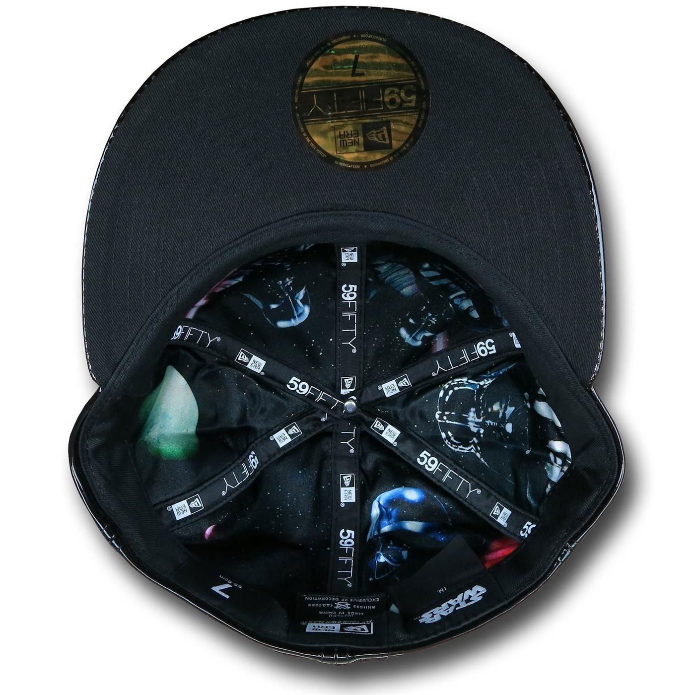 Star Wars Darth Vader Armor 59Fifty Hat