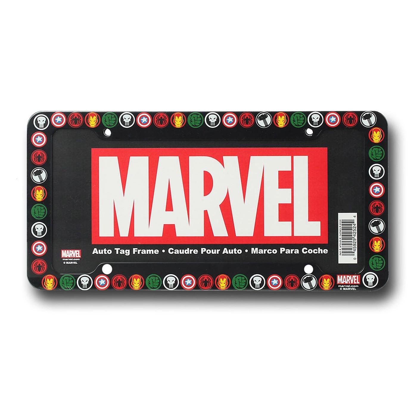 Marvel License Plate Frame
