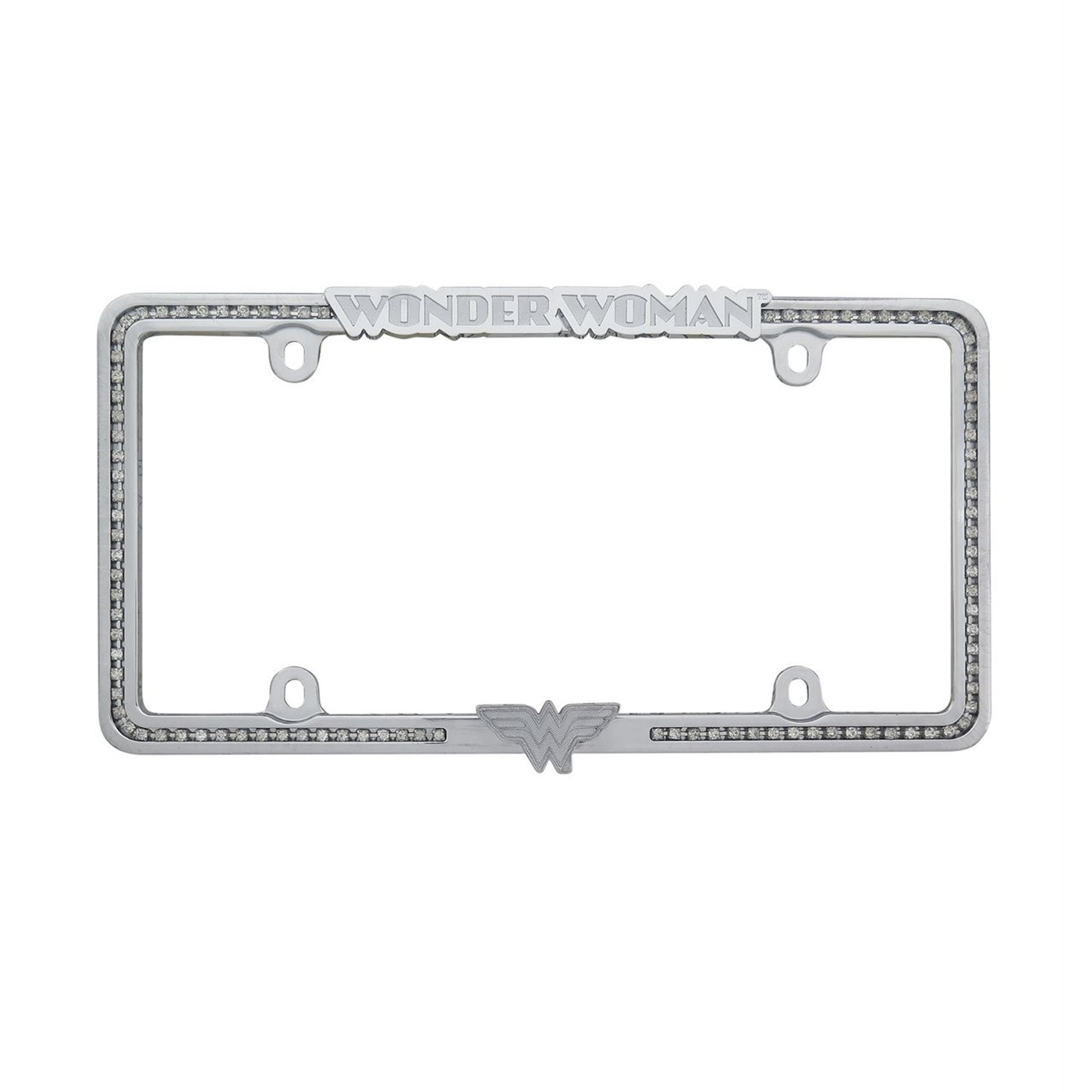 Wonder Woman Metal License Plate Frame
