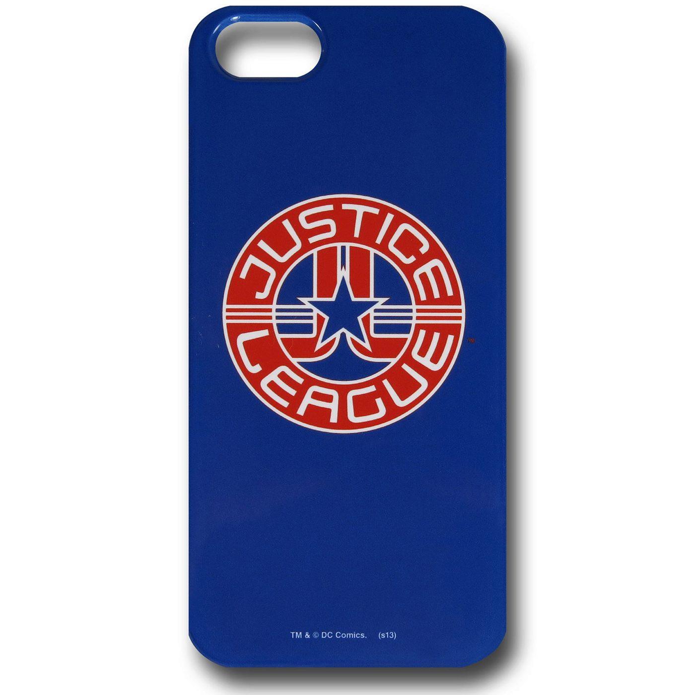 Justice League Logo iPhone 5 Snap Case
