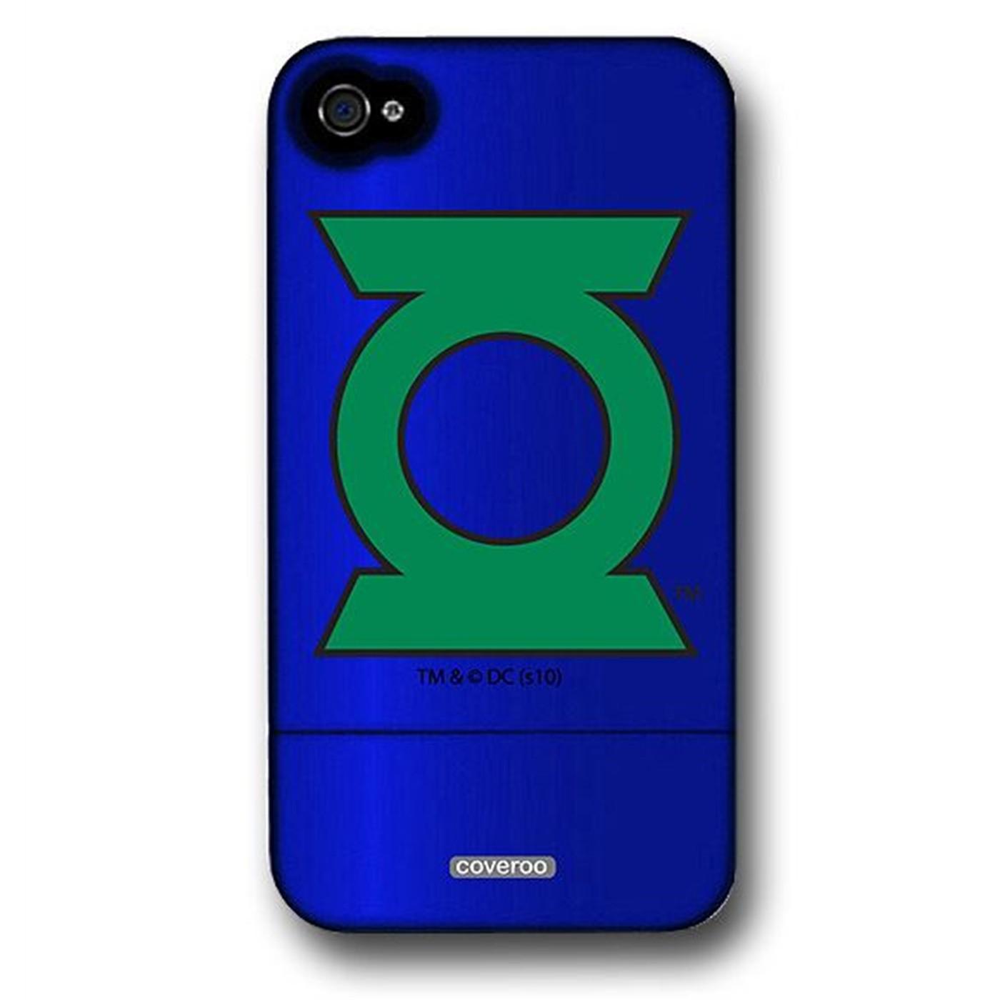Green Lantern Symbol iPhone 4 & 4S Slider Case