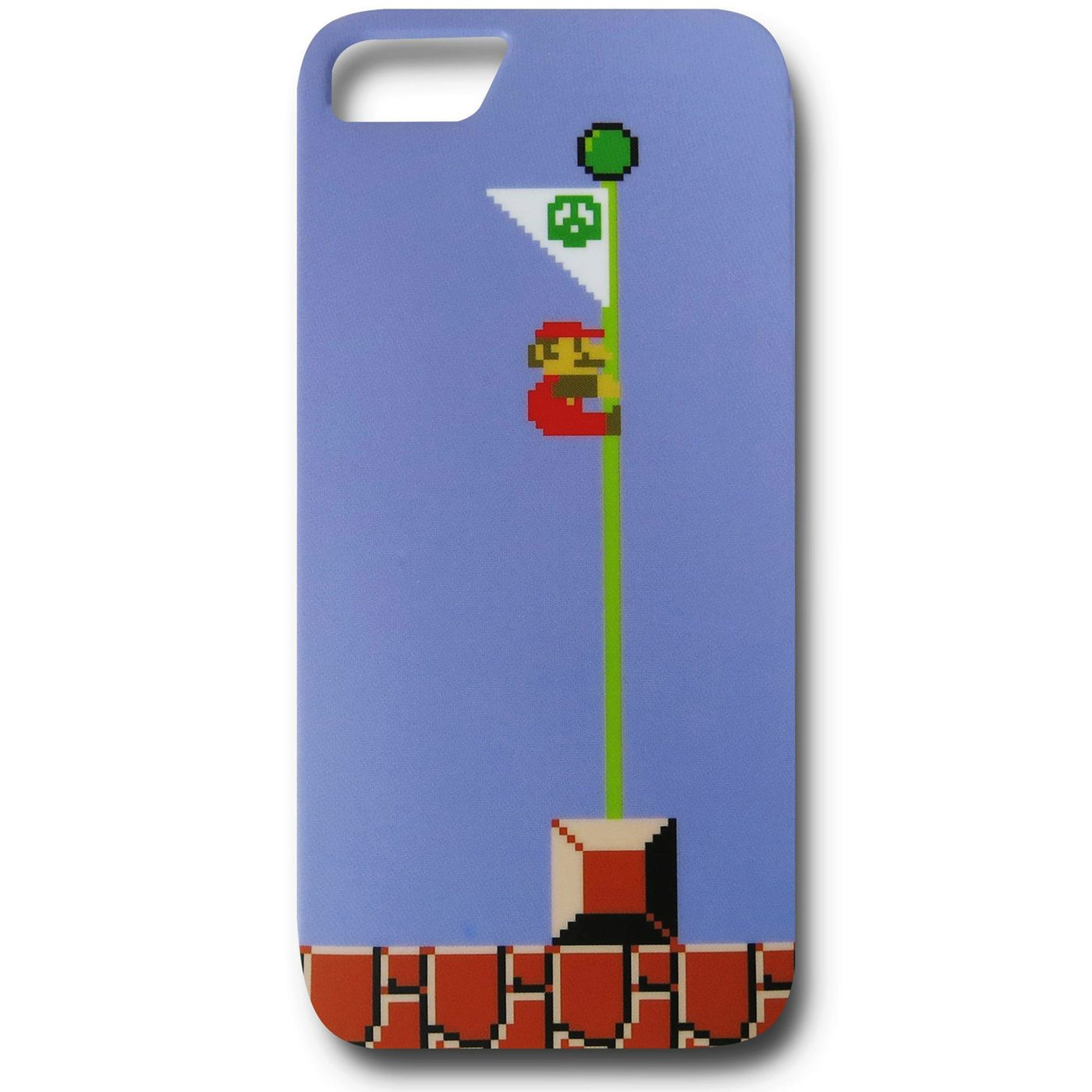 Nintendo Mario Flagpole iPhone 5 Case
