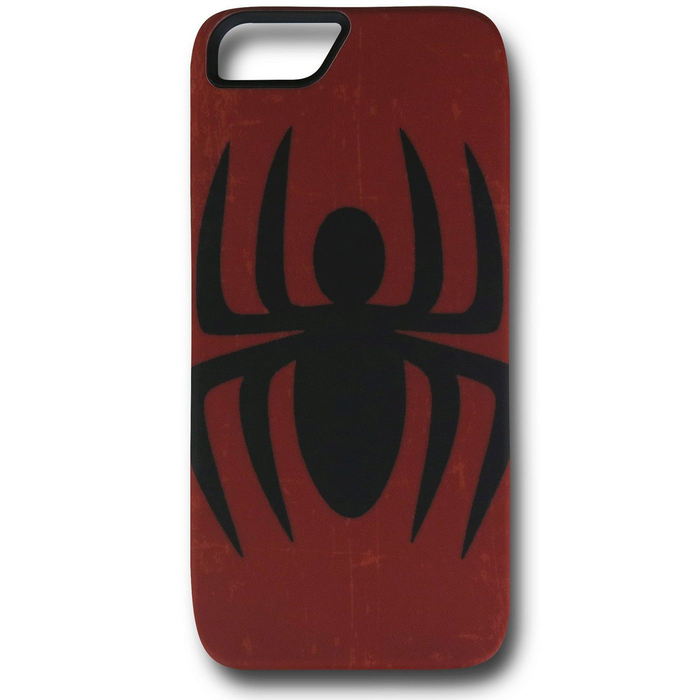 Spiderman Symbol Distressed Red iPhone 5 Case
