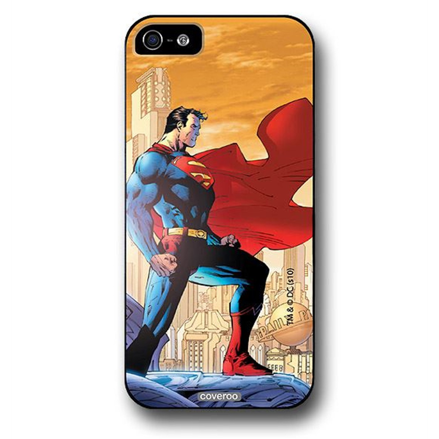 Superman Icon Pose iPhone 5 Snap Case
