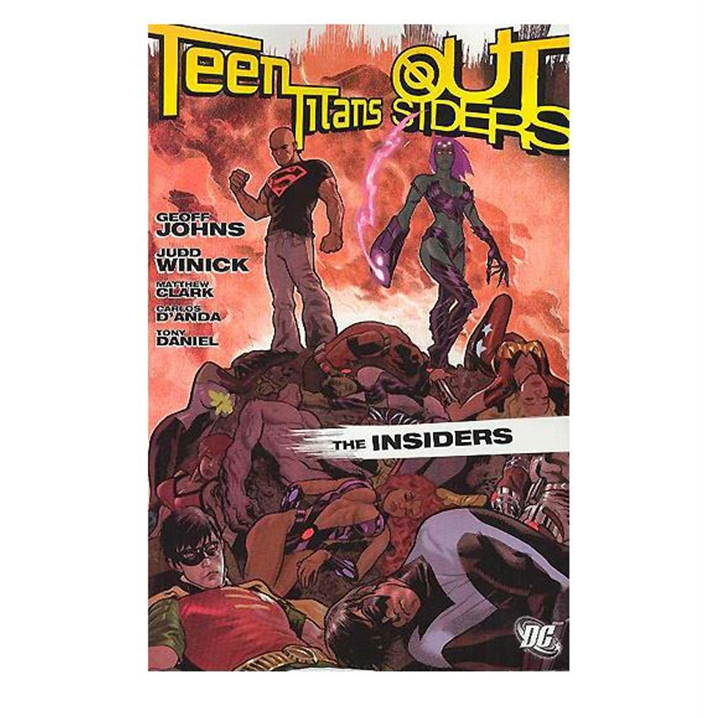 Teen Titans Outsiders The Insiders Trade Paperback