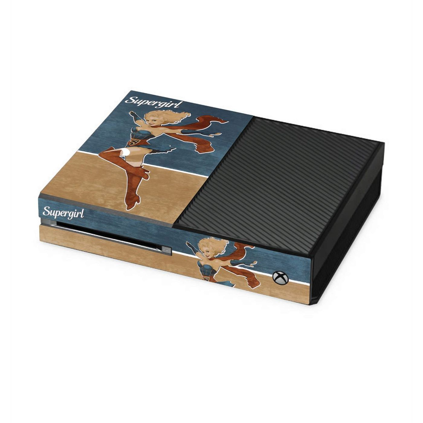 Supergirl Bombshell Xbox One Console Skin