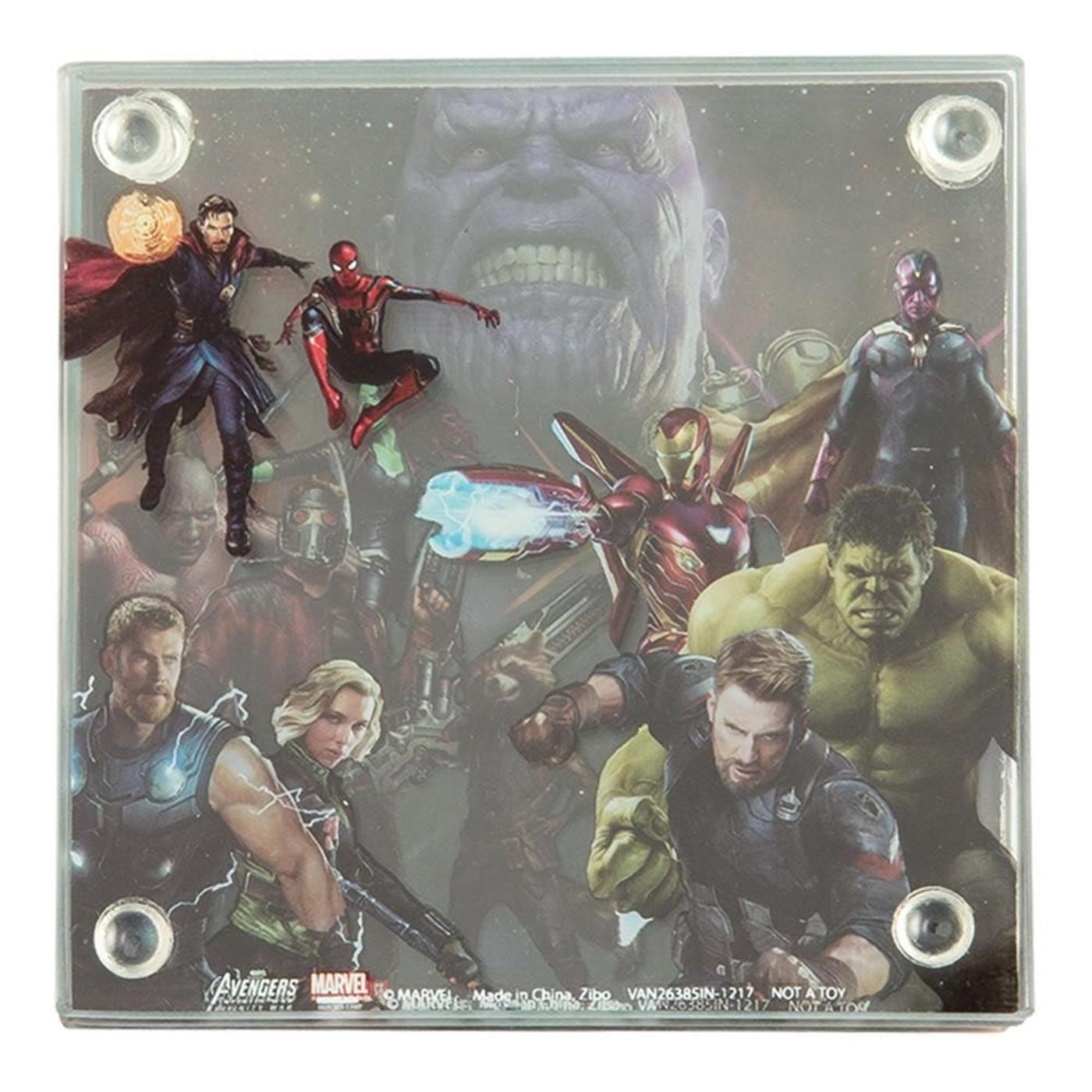 Avengers Infinity War Coaster Set of 4