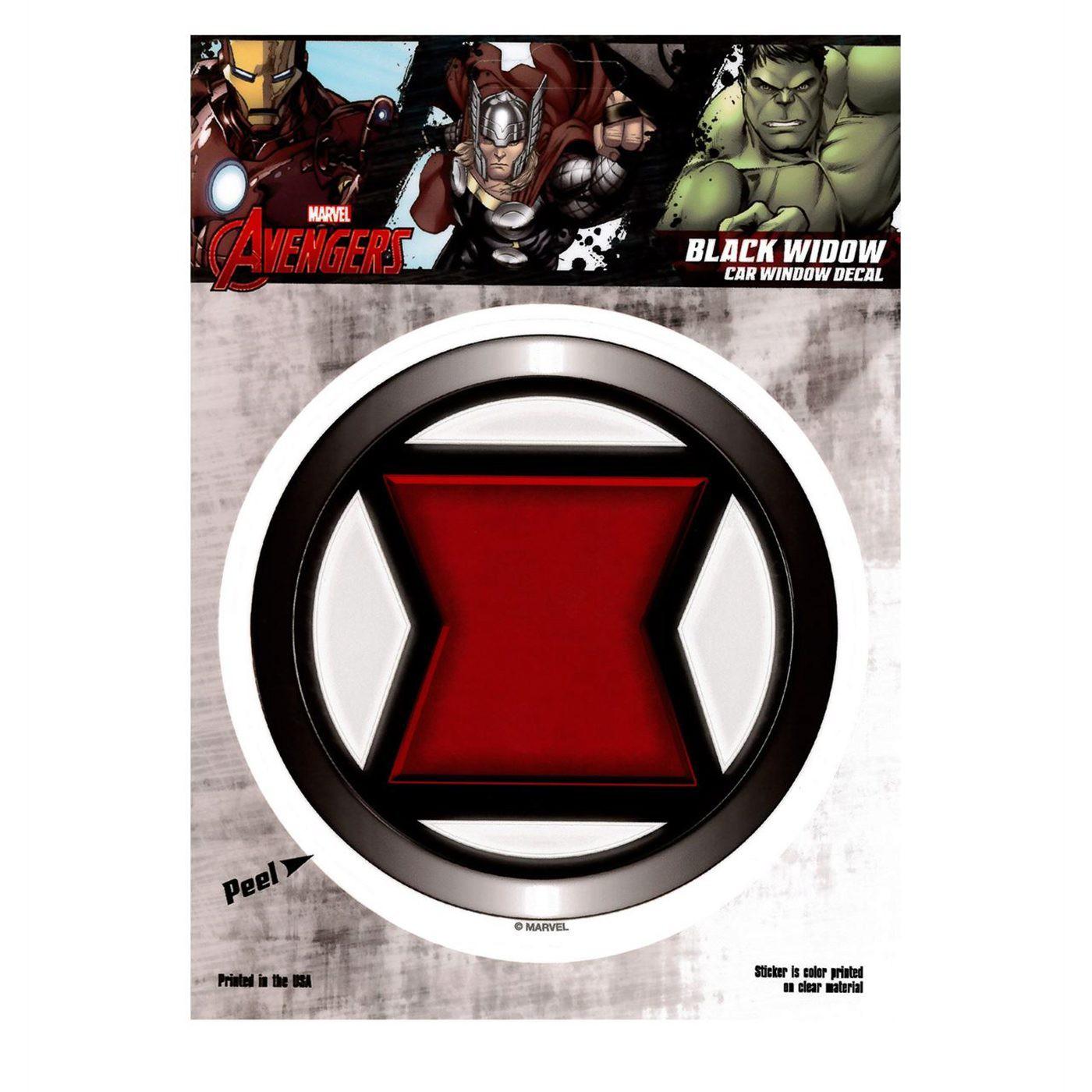 Black Widow Symbol Decal