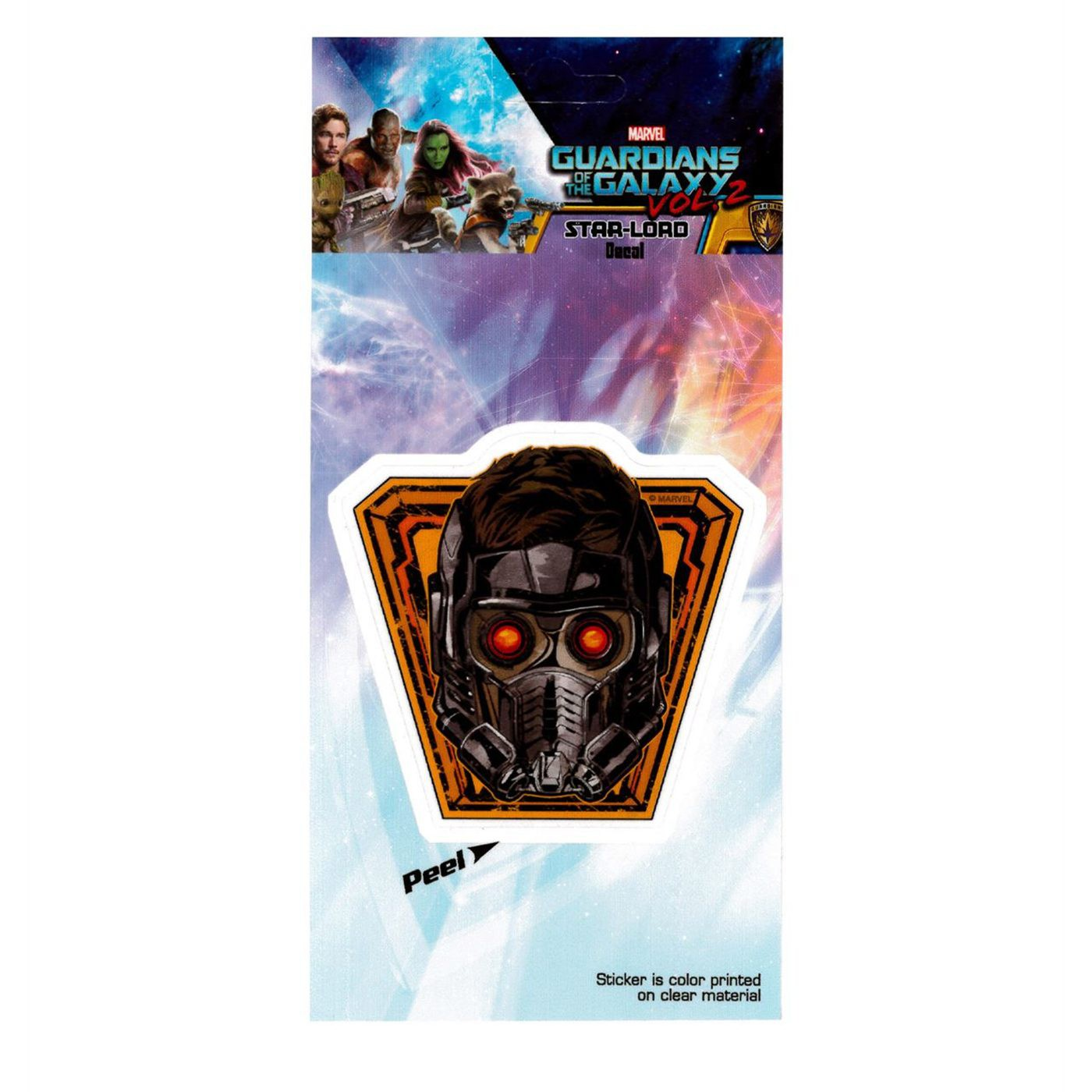 Guardians of the Galaxy Vol. 2 Star Lord Decal
