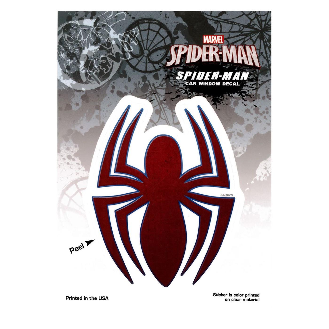 Spiderman Ultimate Symbol Decal