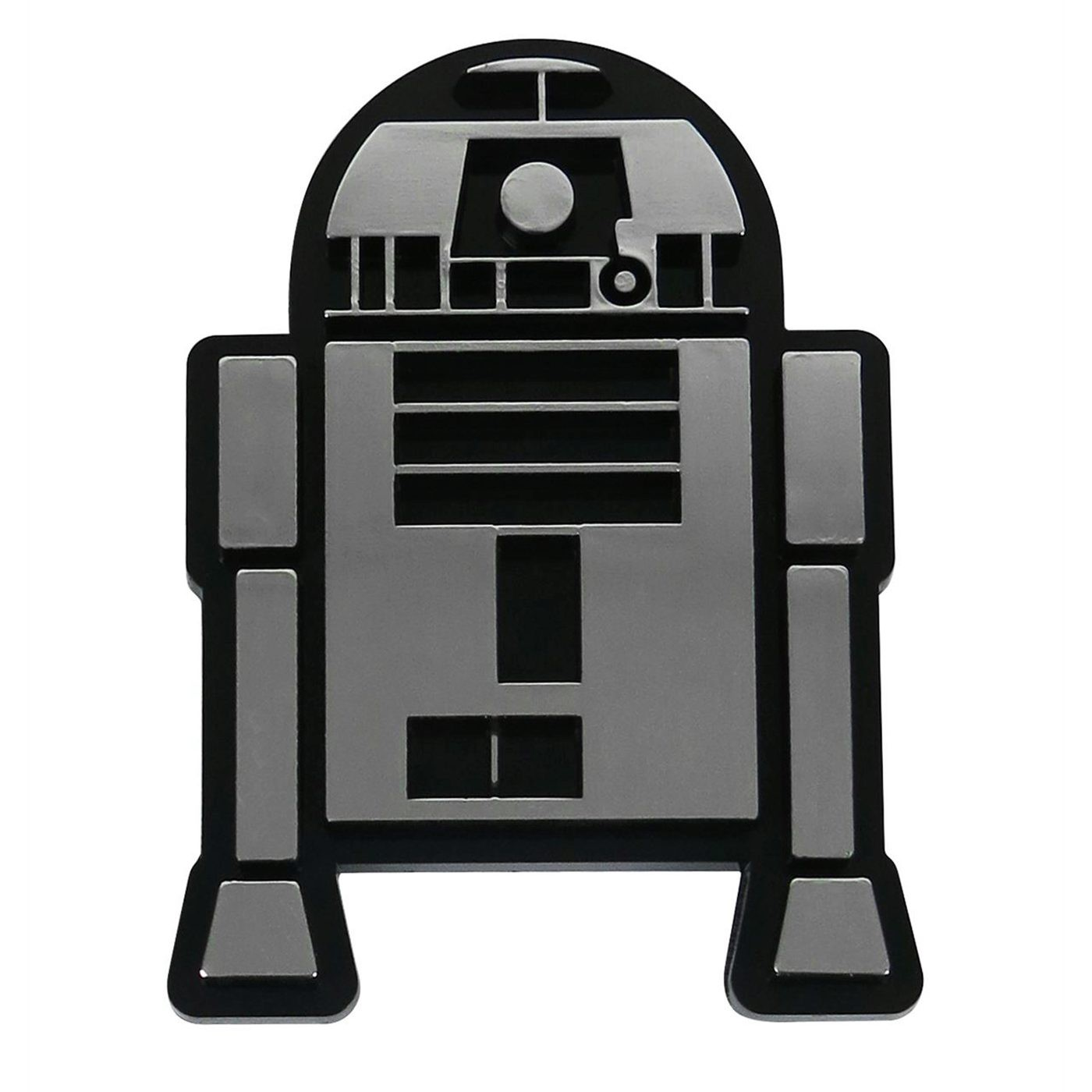 Star Wars R2-D2 Chrome Car Emblem