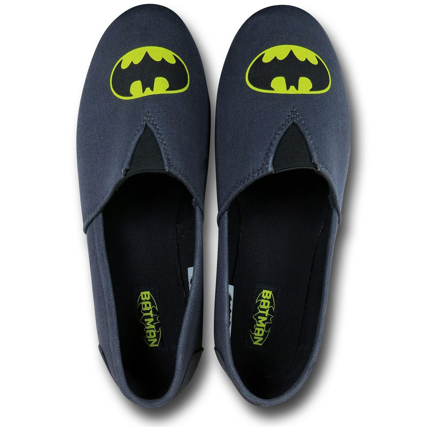 Batman Symbol Canvas Men's Slippers