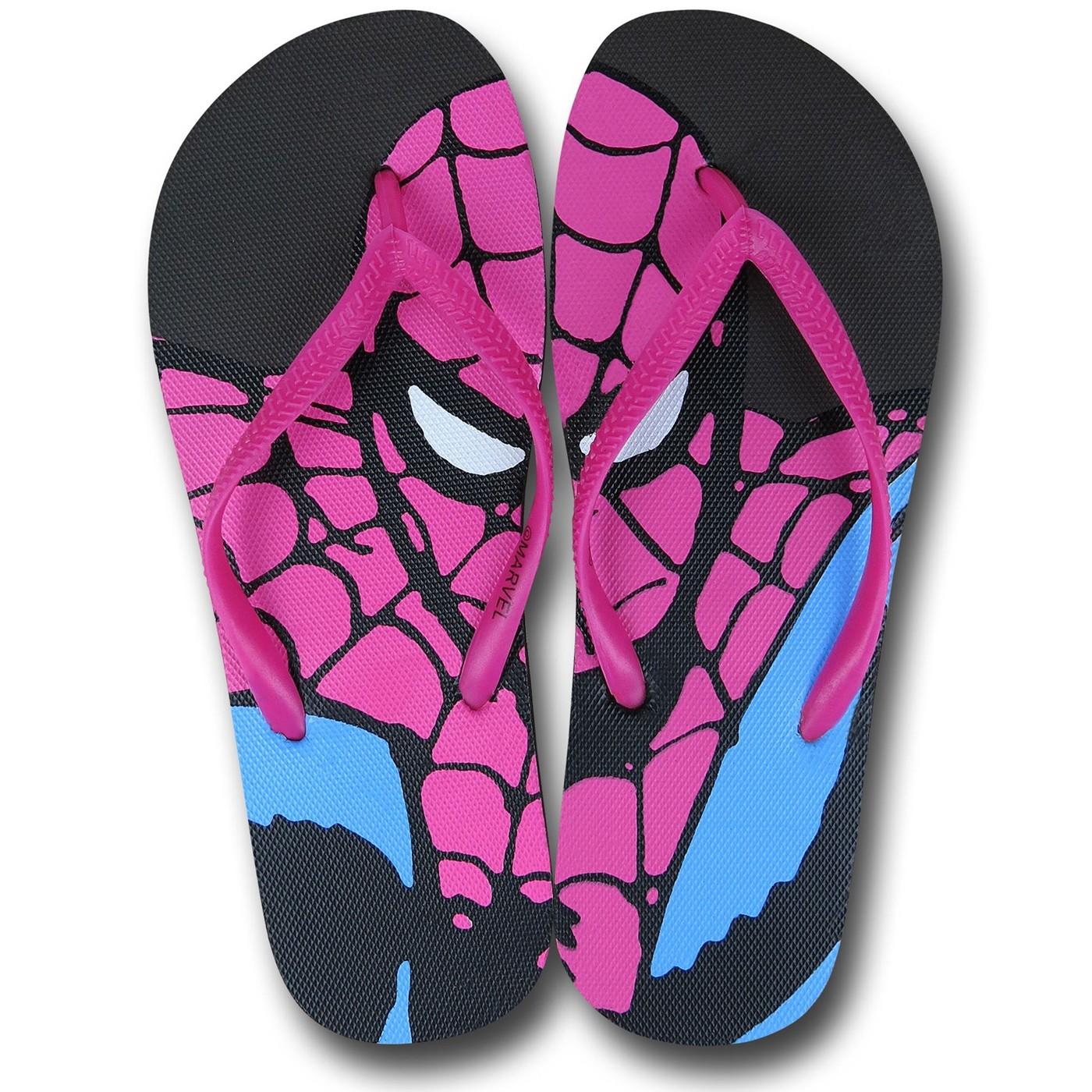 Spiderman Women's Flip Flops