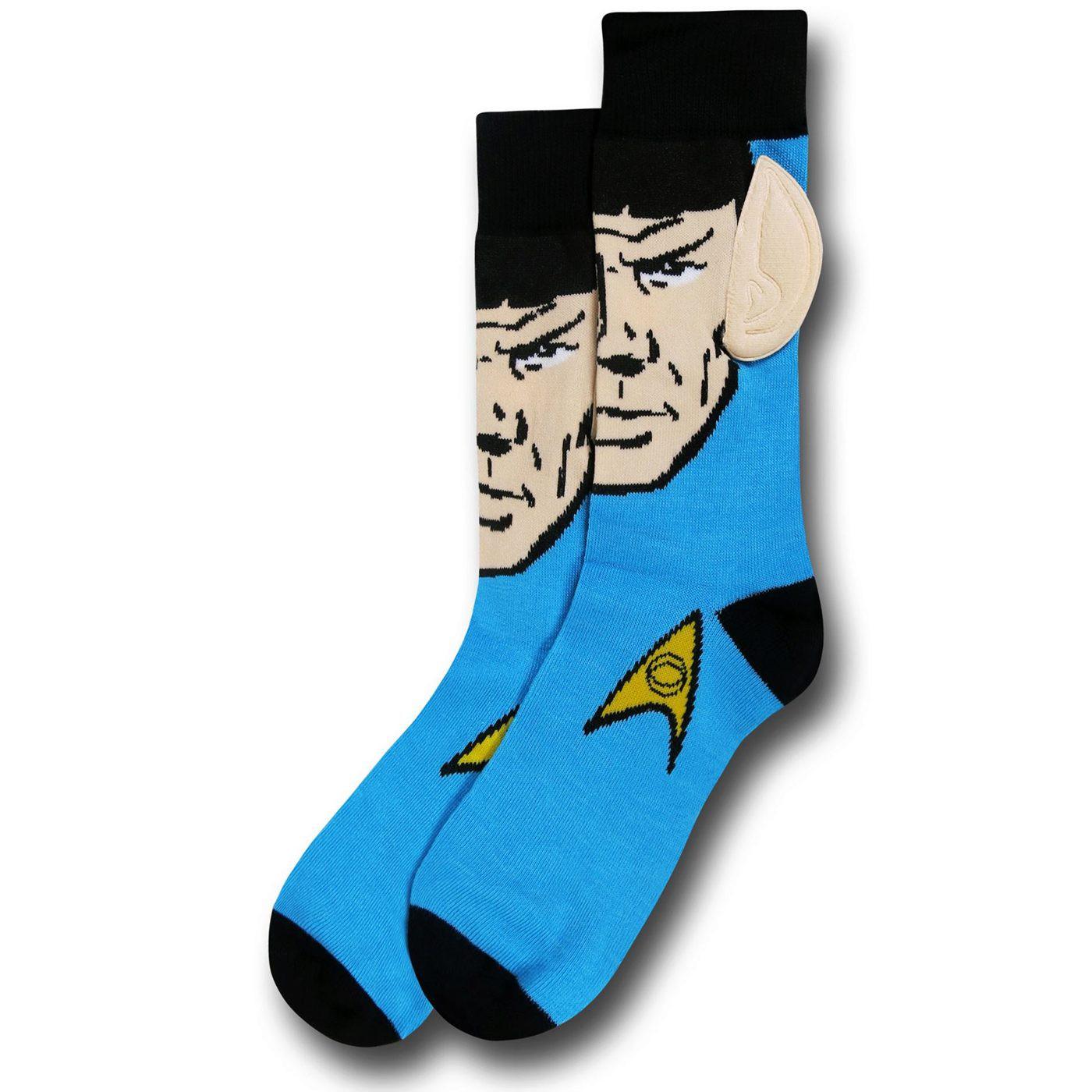 Star Trek Spock Ears Socks