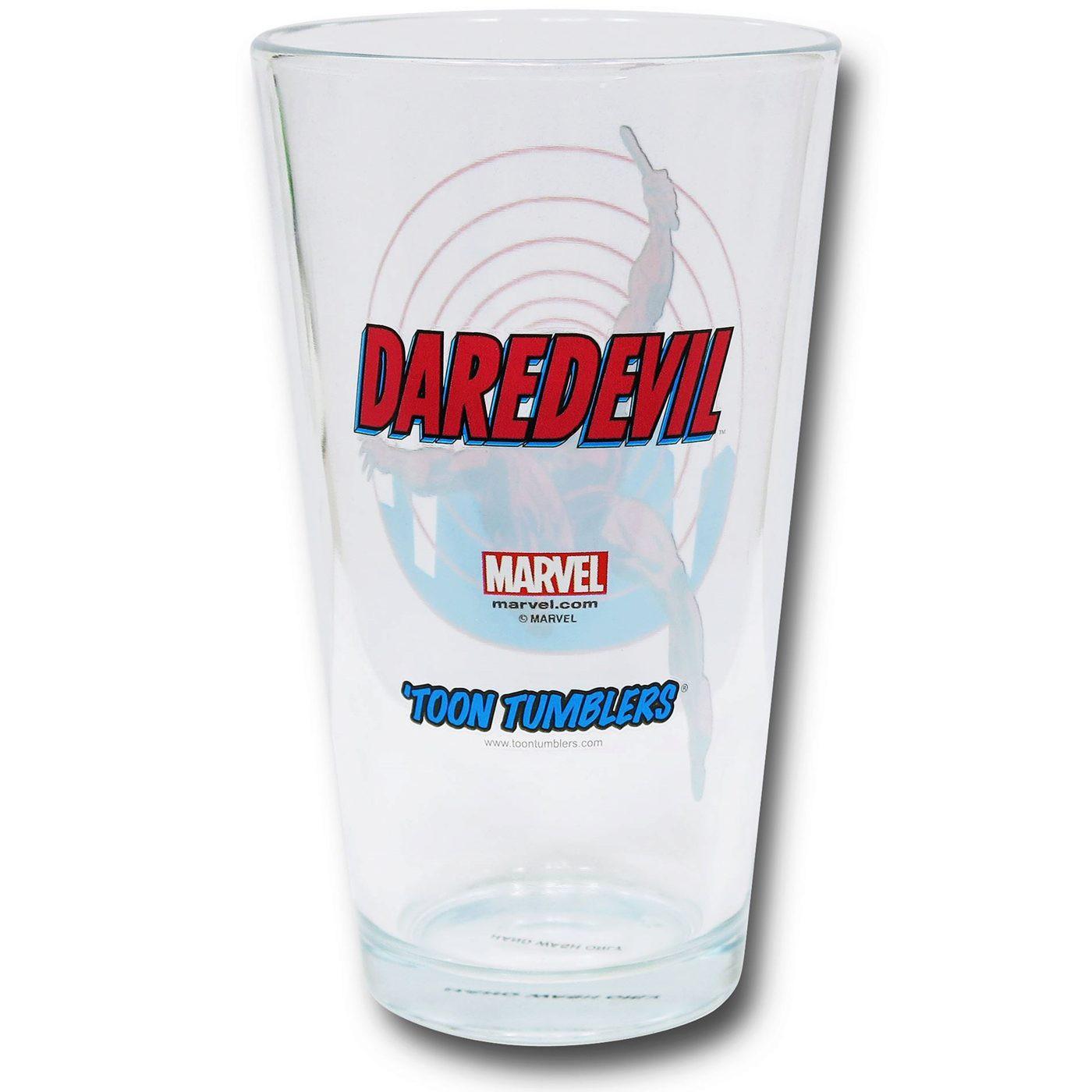 Daredevil Clear Pint Glass