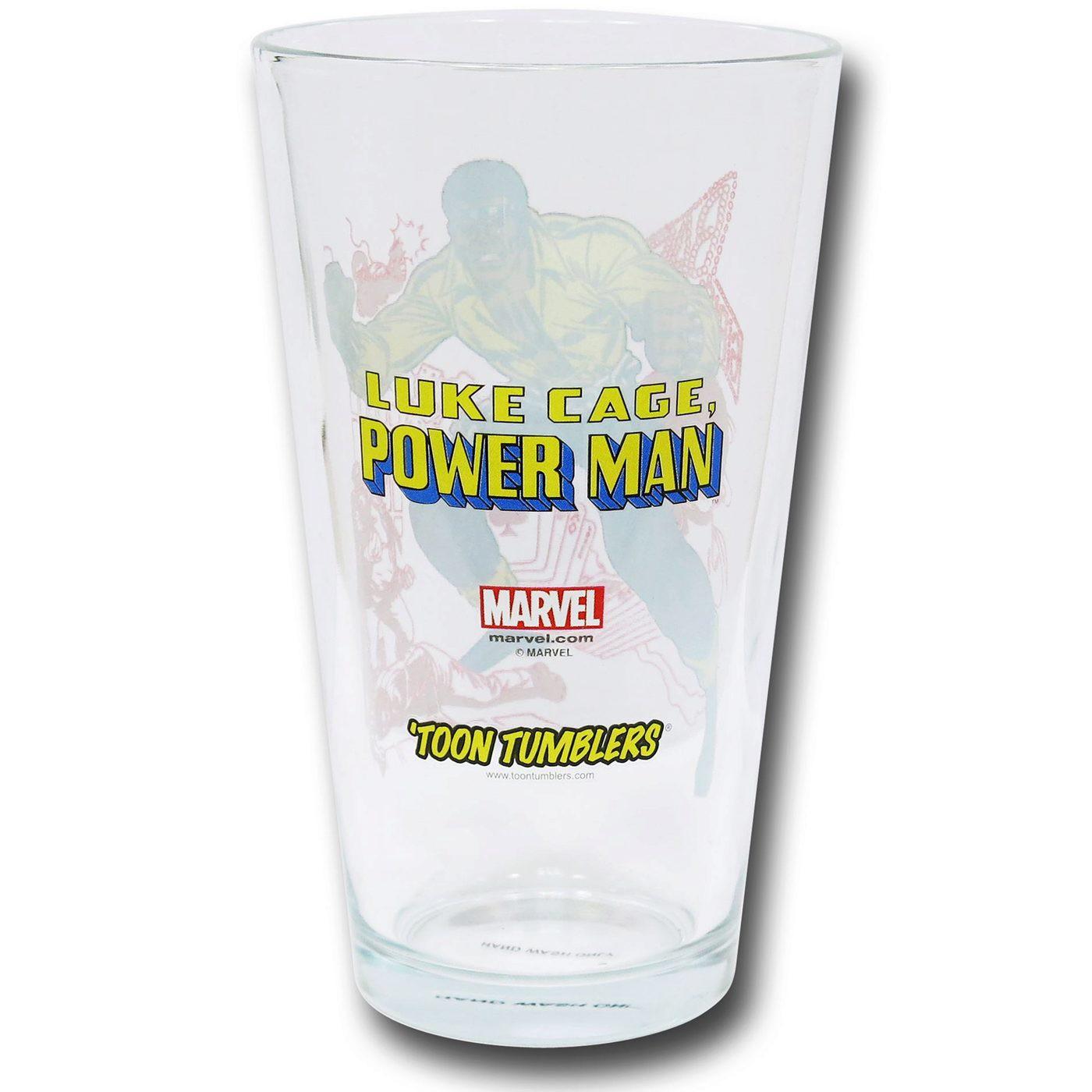 Power Man Pint Glass