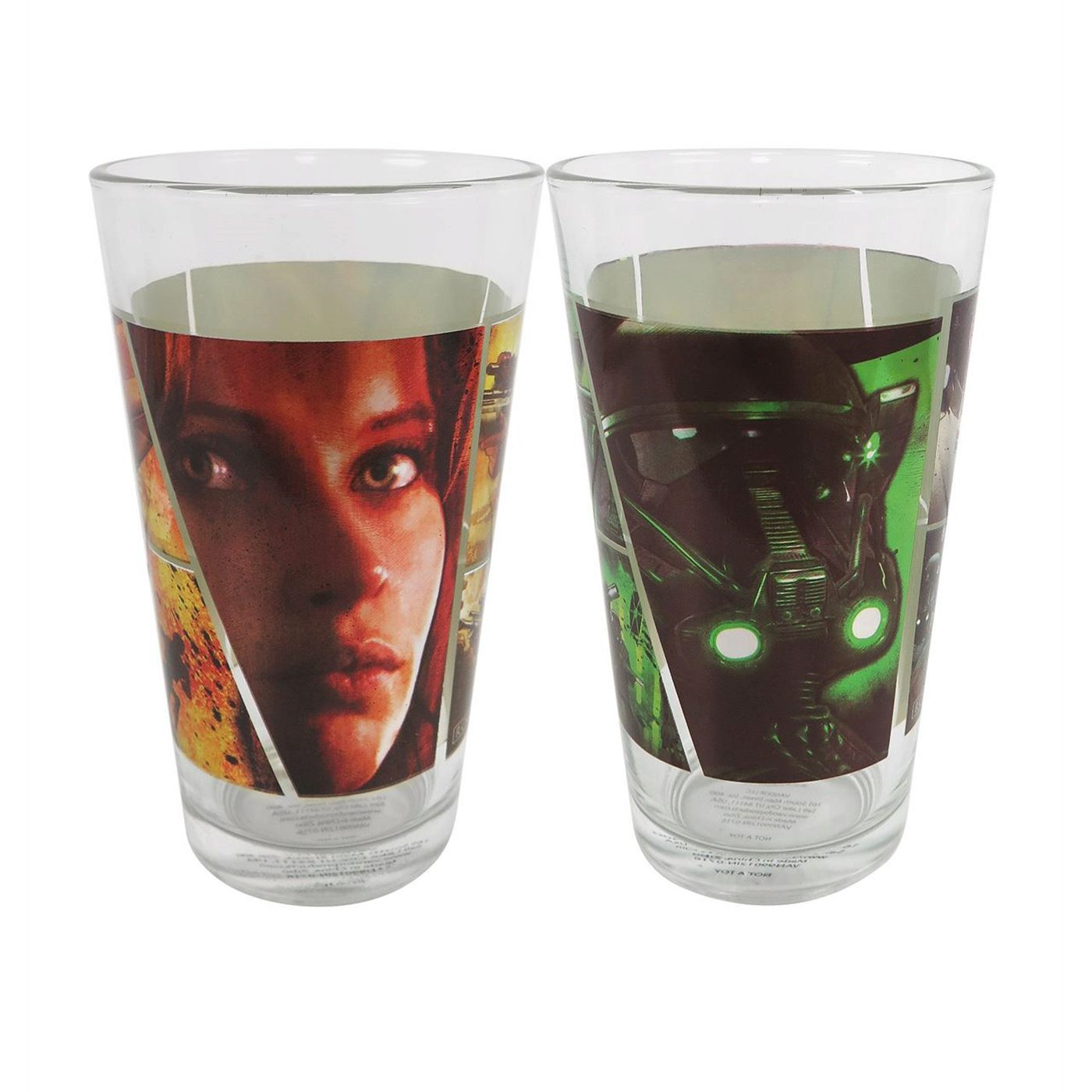 Star Wars Rogue One Image 16oz 2-Pack Glass Set
