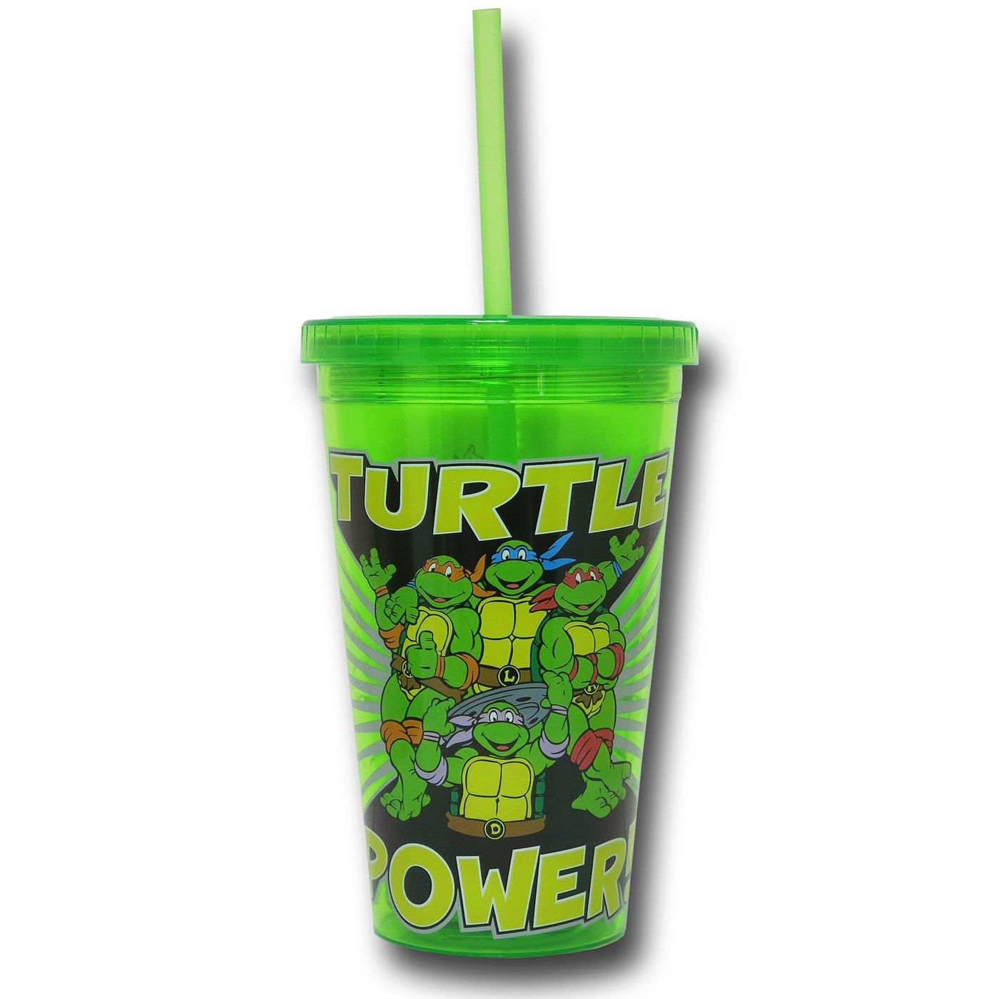 TMNT Turtle Power 16oz Acrylic Cold Cup
