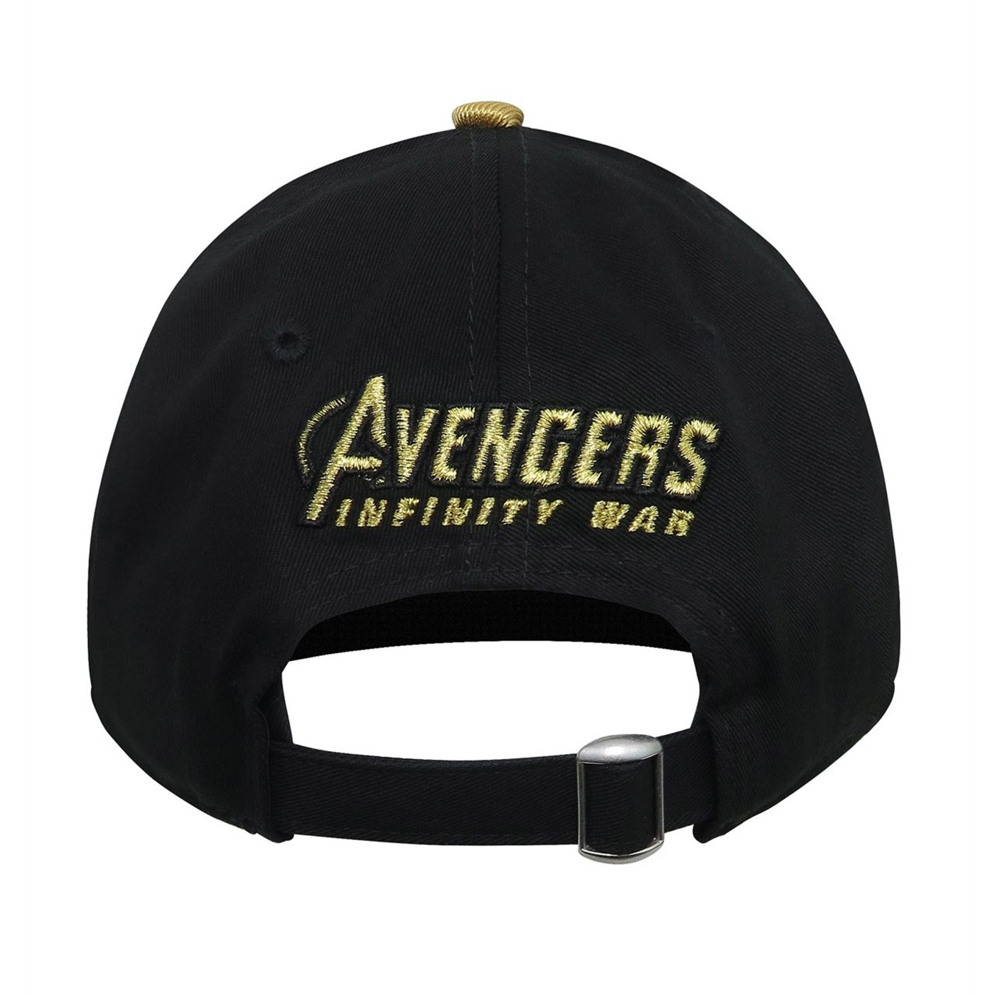 Infinity War Gauntlet Logo 9Twenty Adjustable Hat