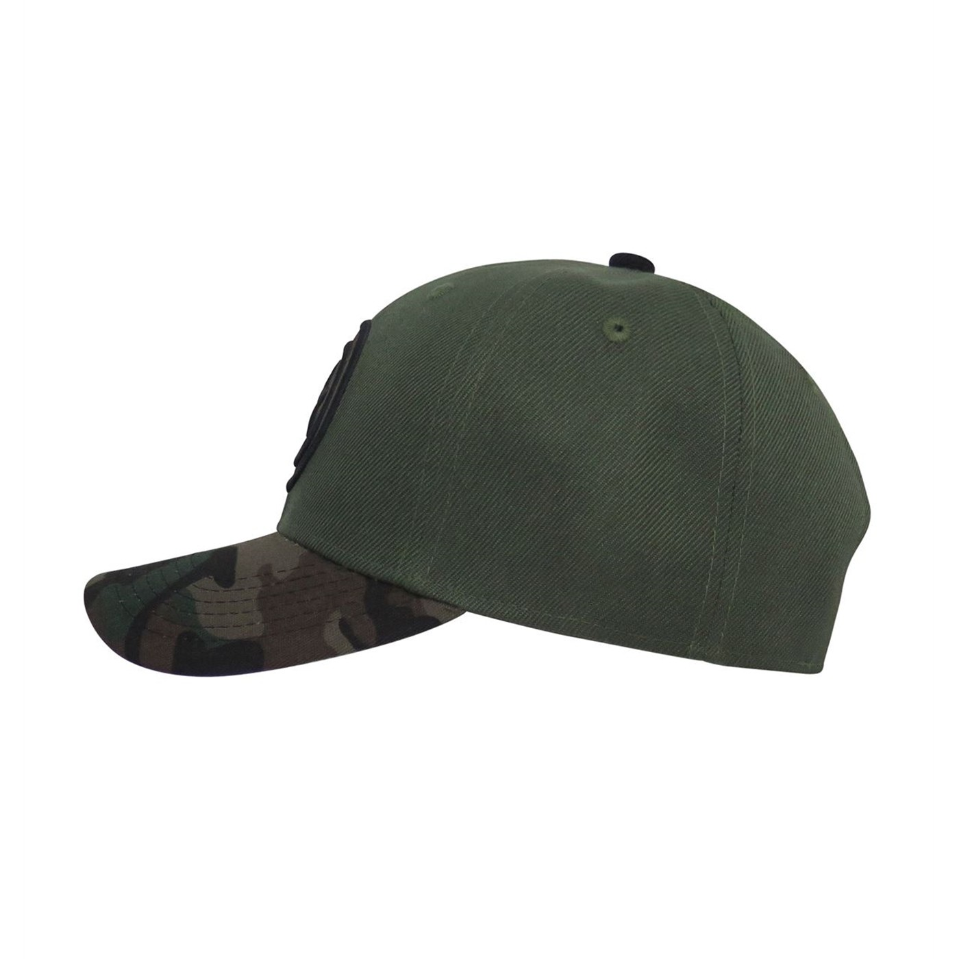 Captain America Camo Adjustable Snapback Hat