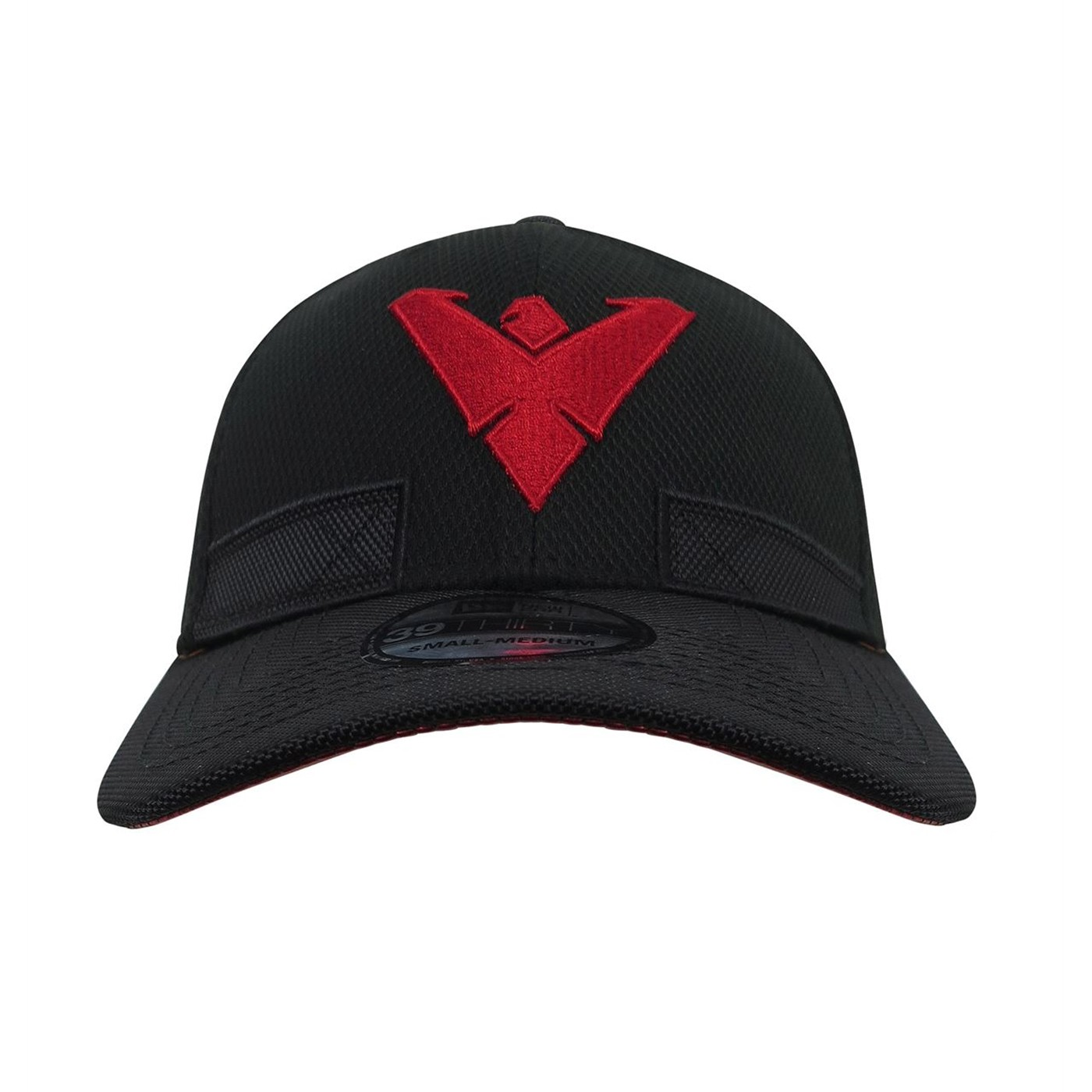 Nightwing New 52 Symbol Lined Armor 39Thirty Fitted Hat