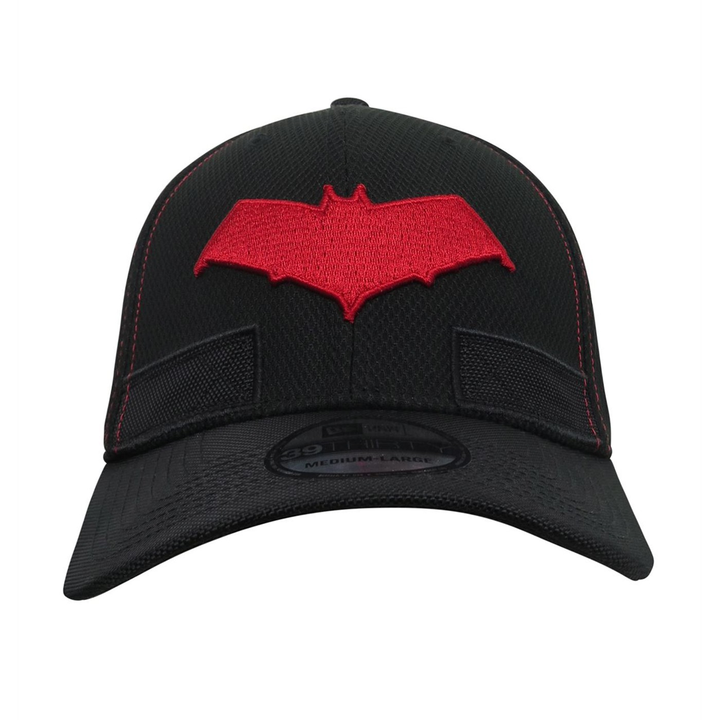 Red Hood Symbol Armor 39Thirty Fitted Hat