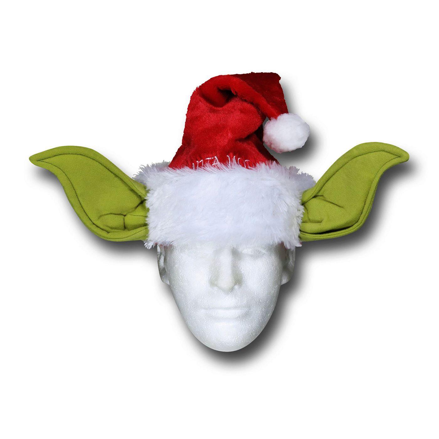 Star Wars Yoda Santa Hat
