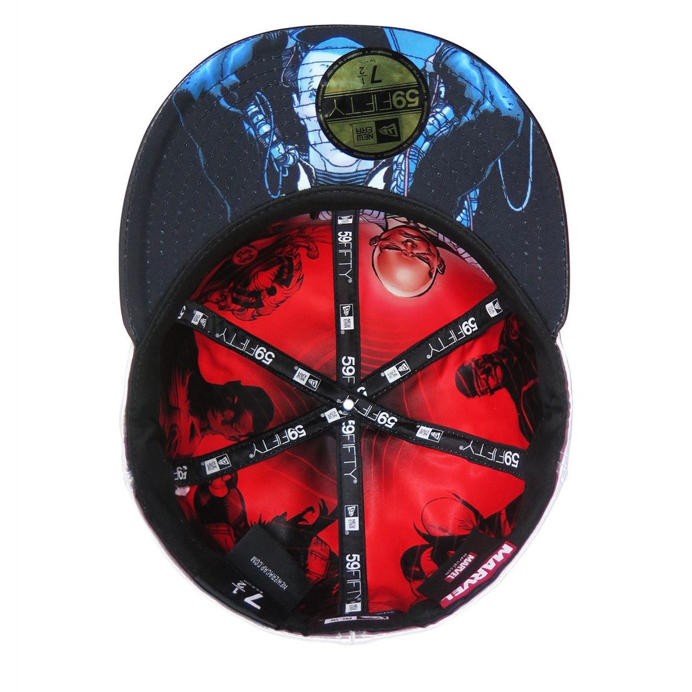 X-Men Cerebro Armor 59Fifty Fitted Hat