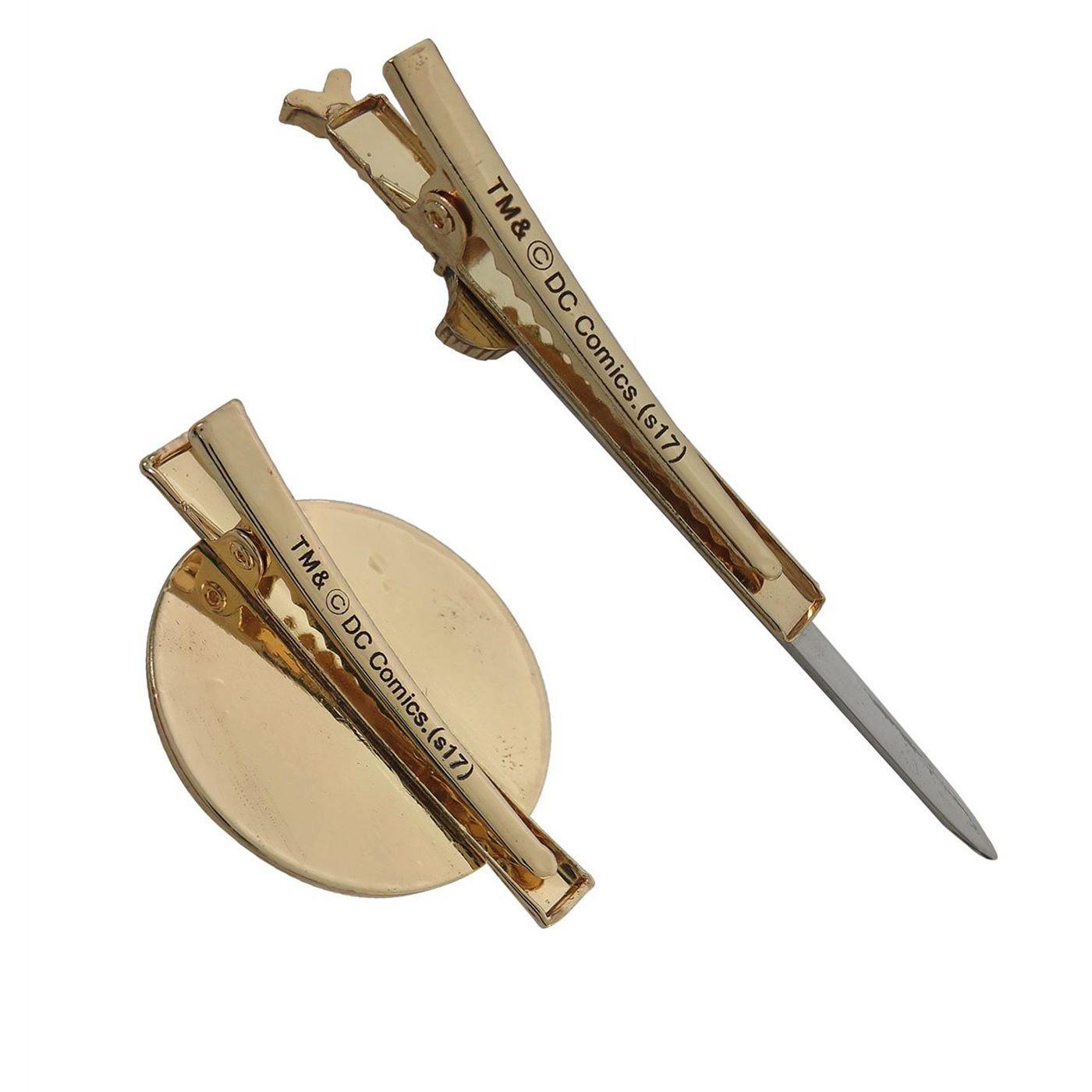 Wonder Woman Movie Sword and Shield Hair Clip Set
